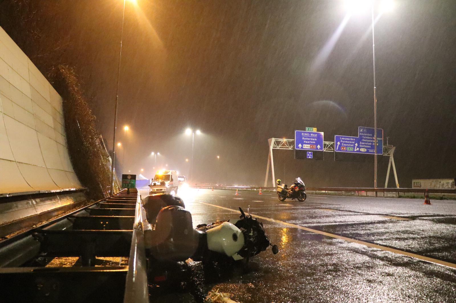 Dodelijk ongeval A10: automobilist uit Krommenie donderdag voorgeleid