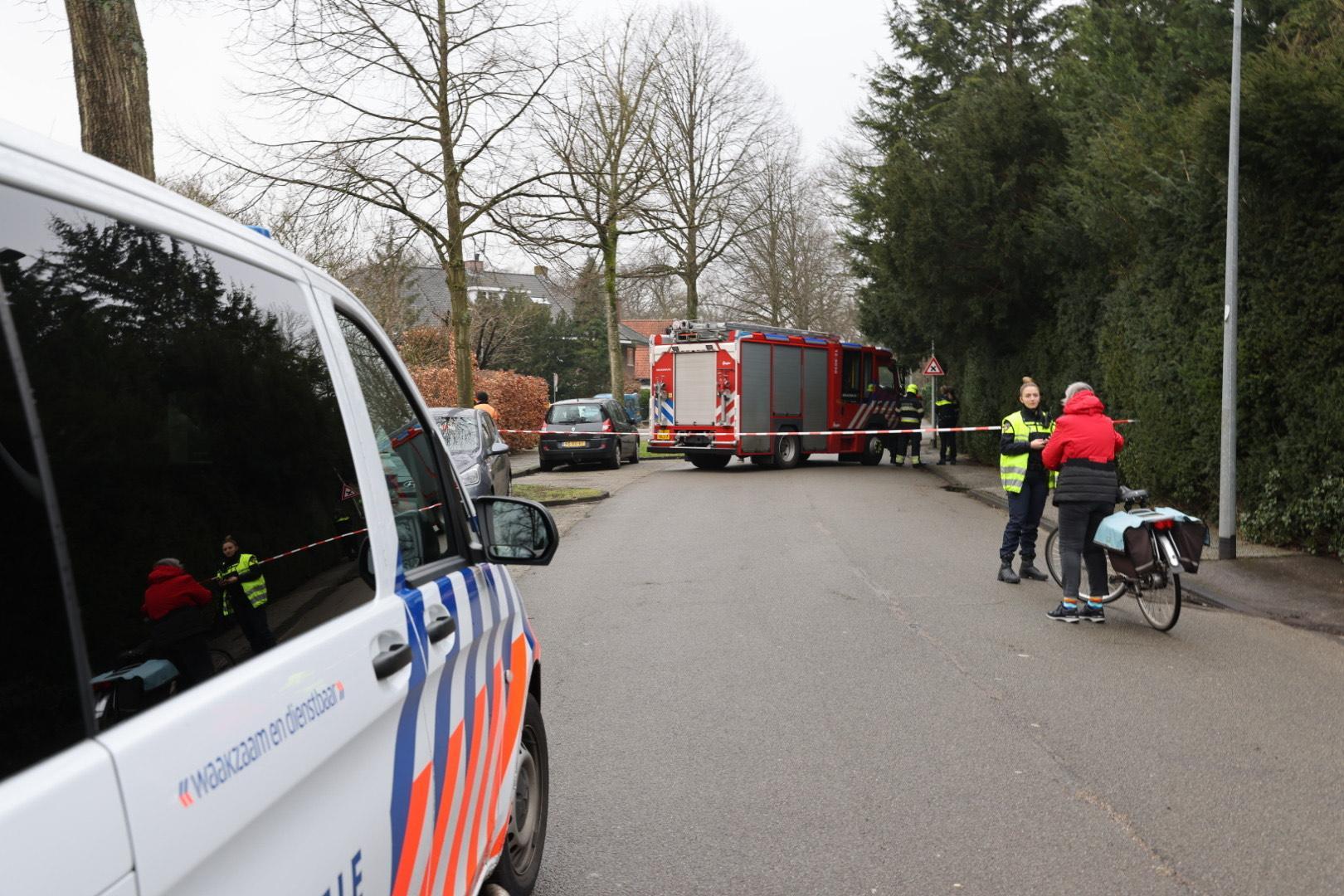 Gasleiding geraakt in Aerdenhout; De Bentveldsweg is afgesloten