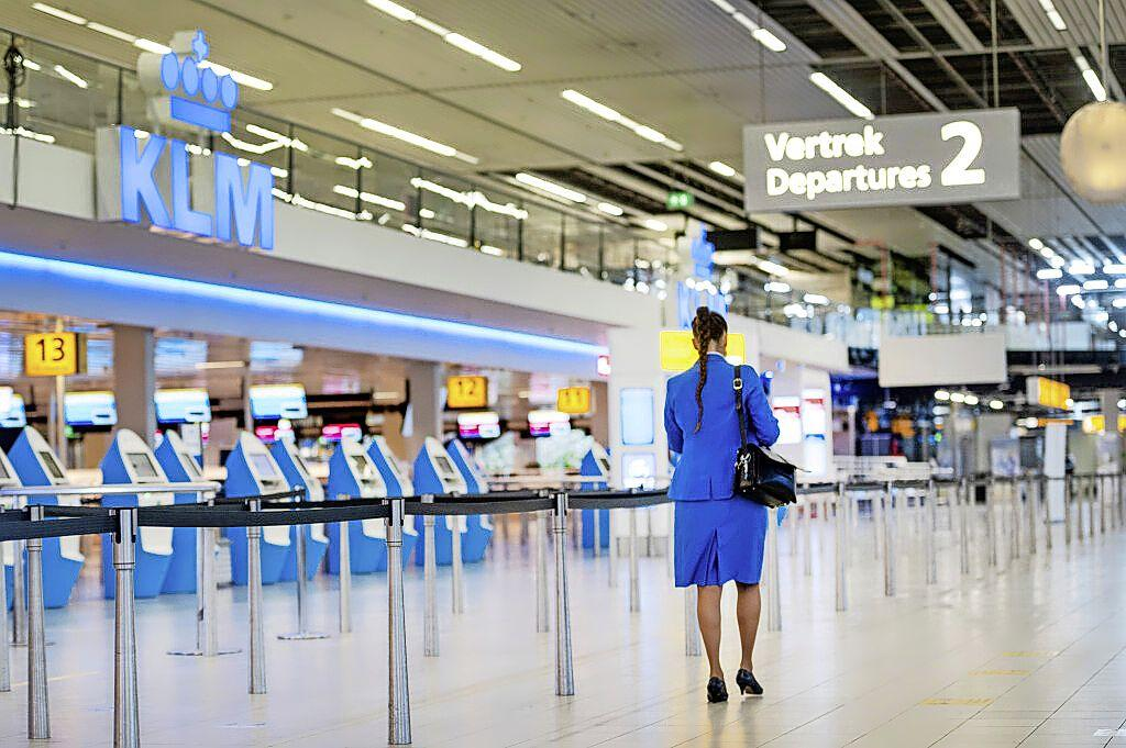 Onrust bij personeel KLM omdat top zich niet roerde in verkiezingstijd