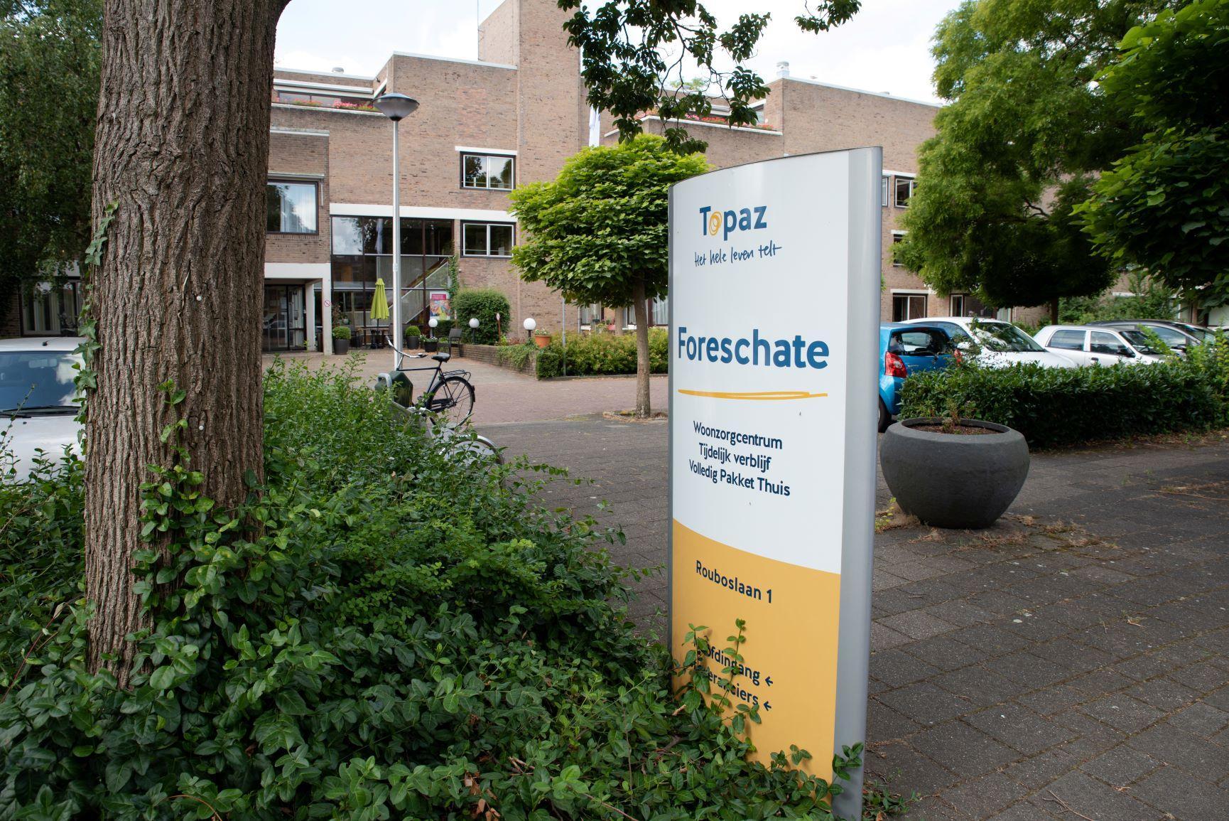Nieuwbouw woonzorgcentrum Foreschate in Voorschoten, bewoners tijdelijk naar Groenhoven in Leiden