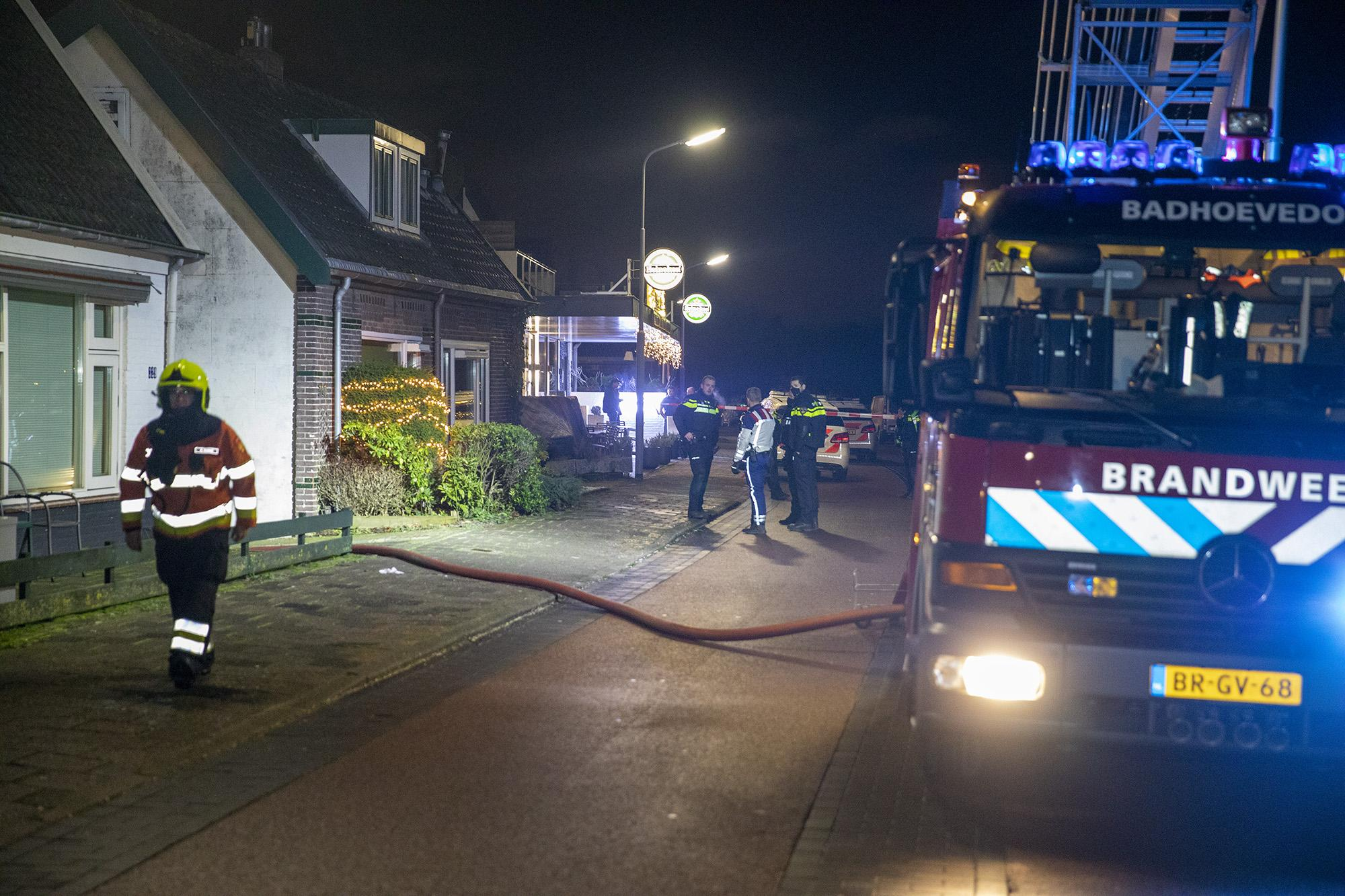 Vrouw naar ziekenhuis na explosie in chalet in Badhoevedorp