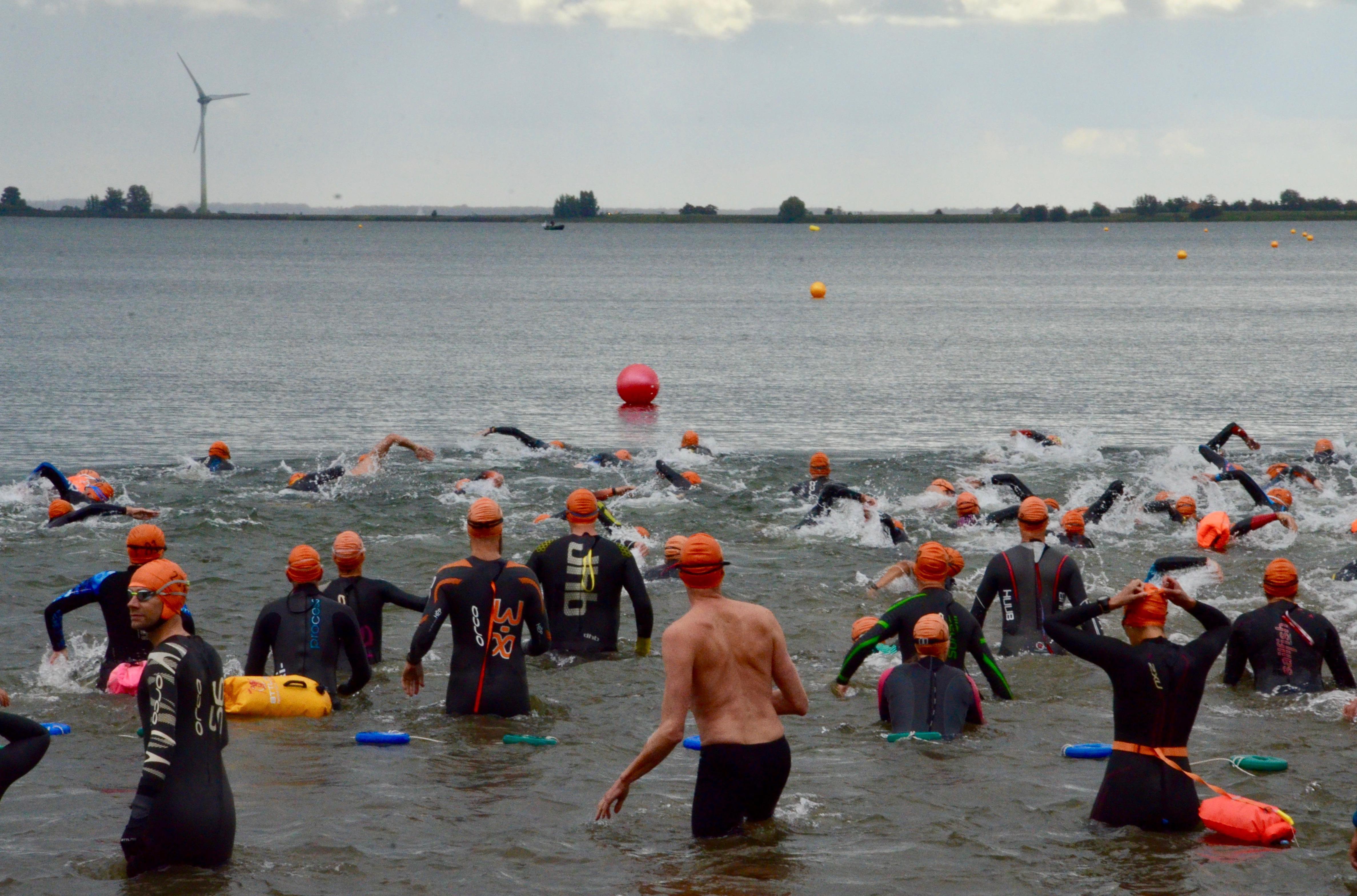 Jordy Kok snelste bij Zwemmeland met alternatief parcours