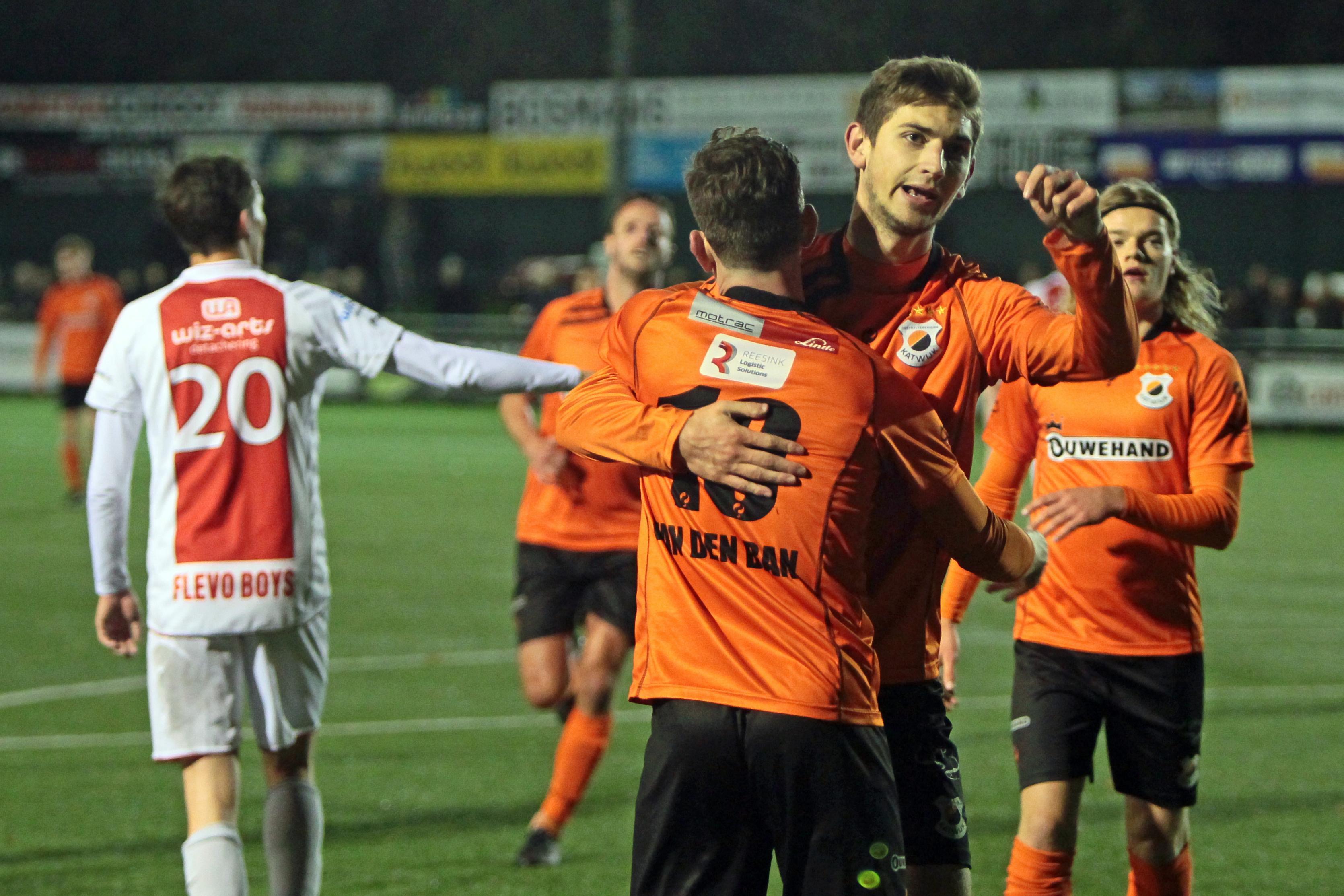 Bijzondere middag voor Jordy Hilterman die met Katwijk aantreedt tegen zijn nieuwe club Koninklijke HFC