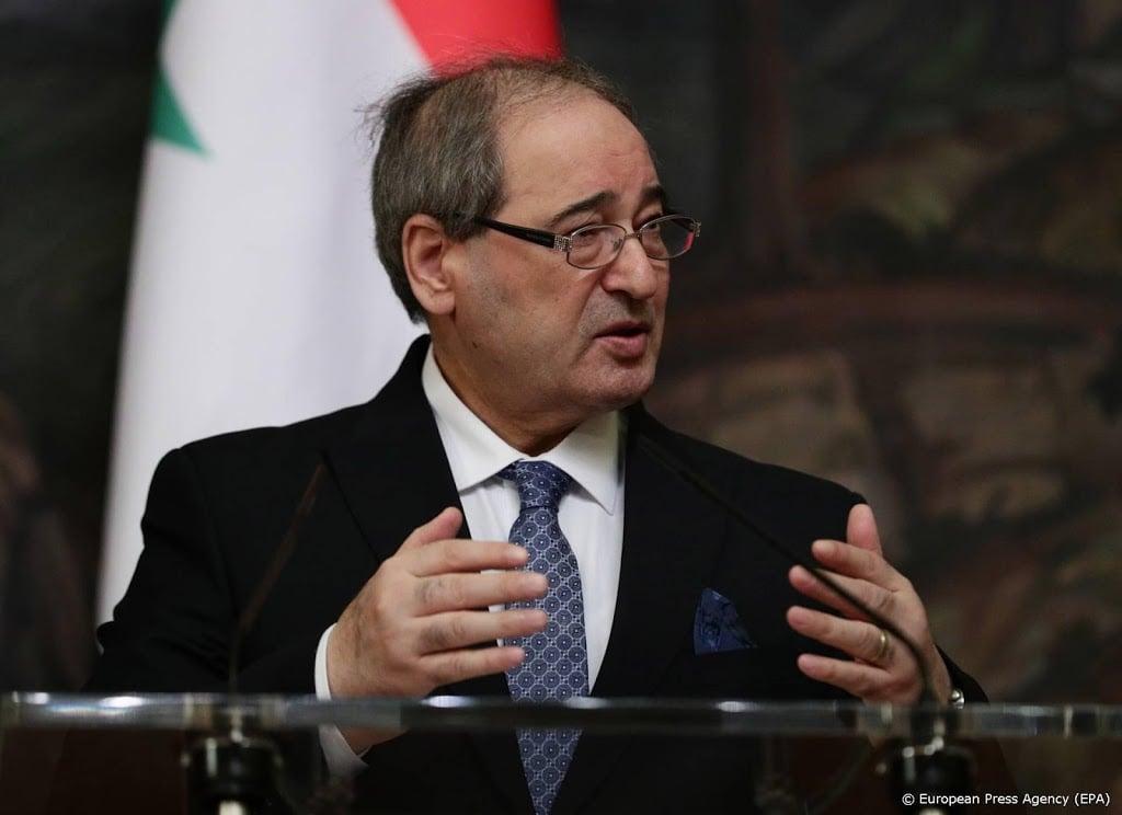 EU zet Syrische minister van Buitenlandse Zaken op sanctielijst