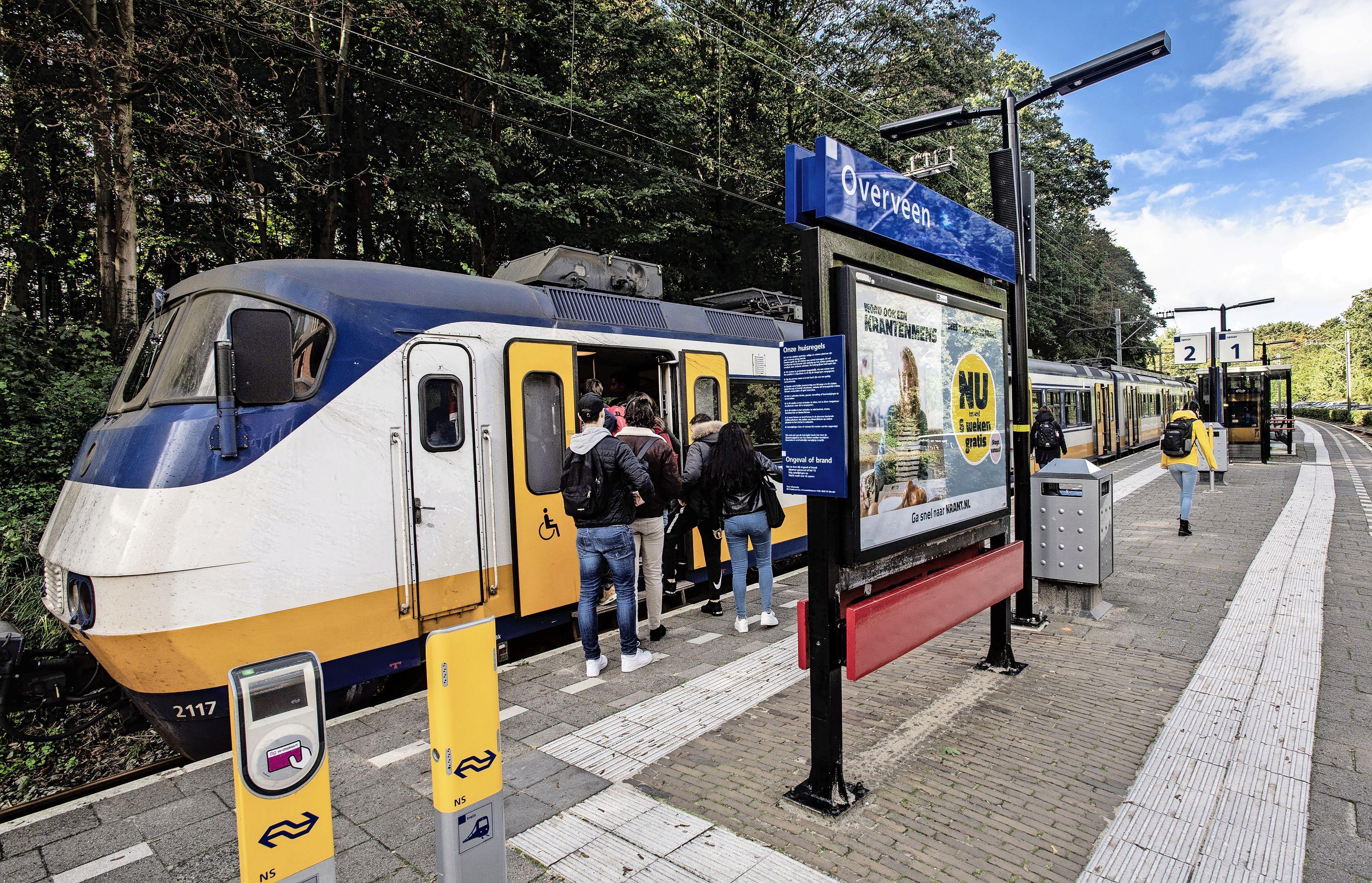 Overveen populairste NS-station van Noord-Holland, ook Haarlem en Bloemendaal scoren hoog