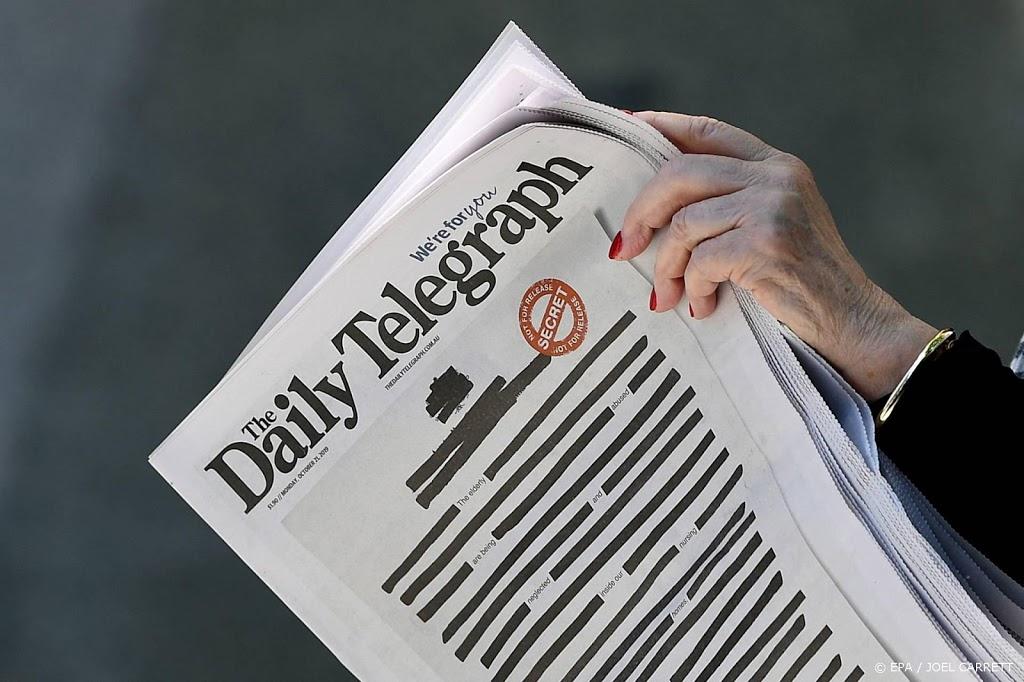 Twaalf Australische media beboet om publicaties kardinaal Pell