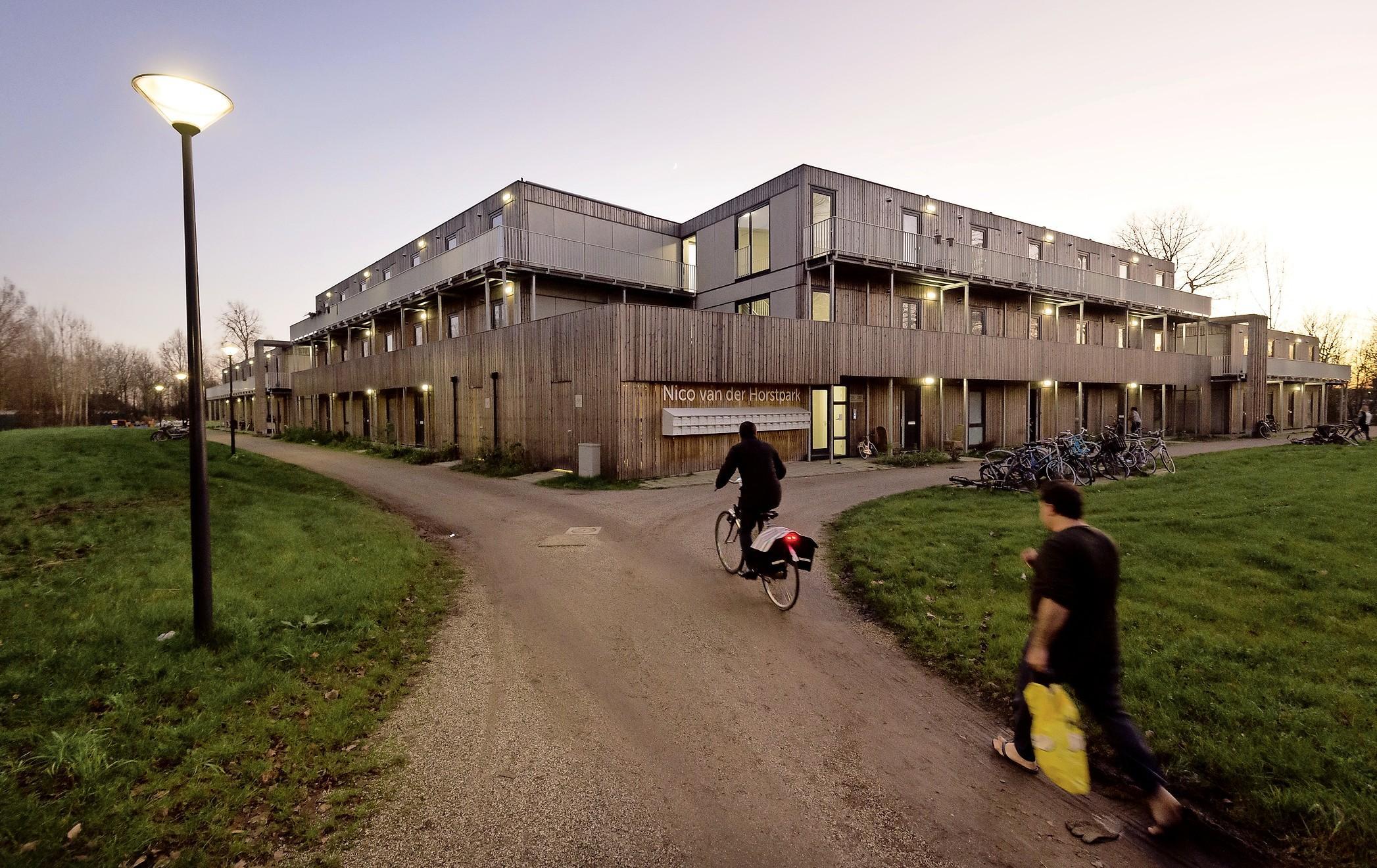 Samenwonen voor beginners in het Leidse Nico van der Horstpark