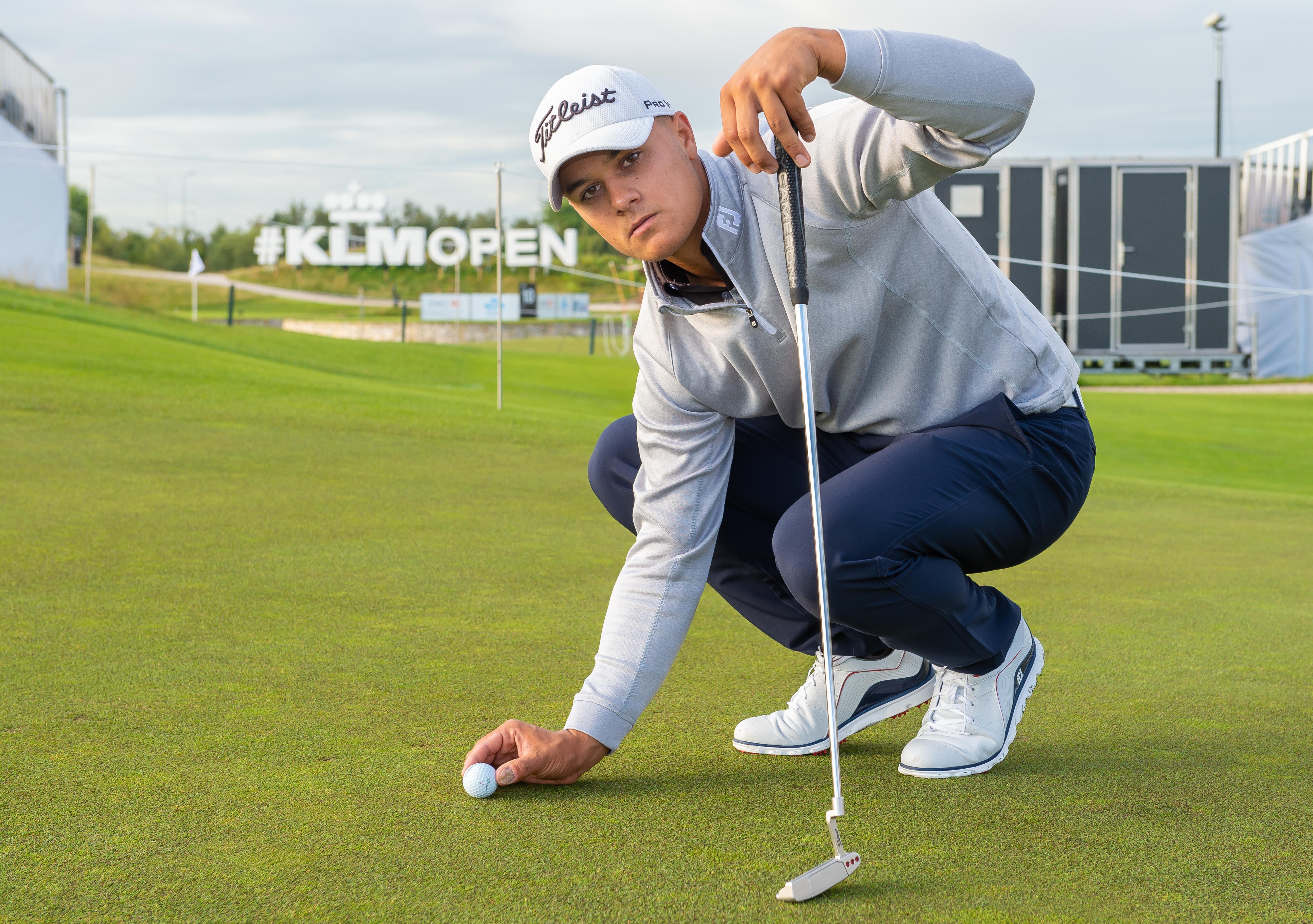 Golfer Mike Toorop is 'het' opeens helemaal kwijt in Sevilla en valt op slotdag van gedeelde koppositie terug naar gedeelde 38e plek