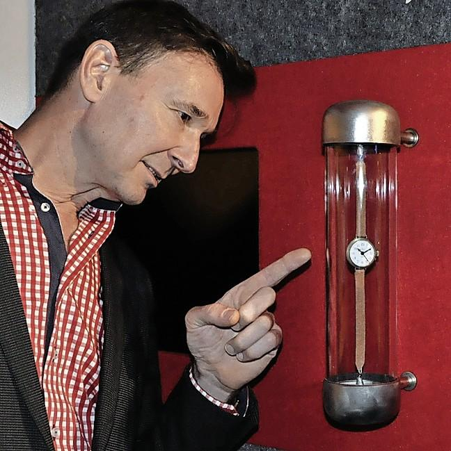 Ralph Jansen ziet zijn droom vervuld in zijn eigen horlogemuseum