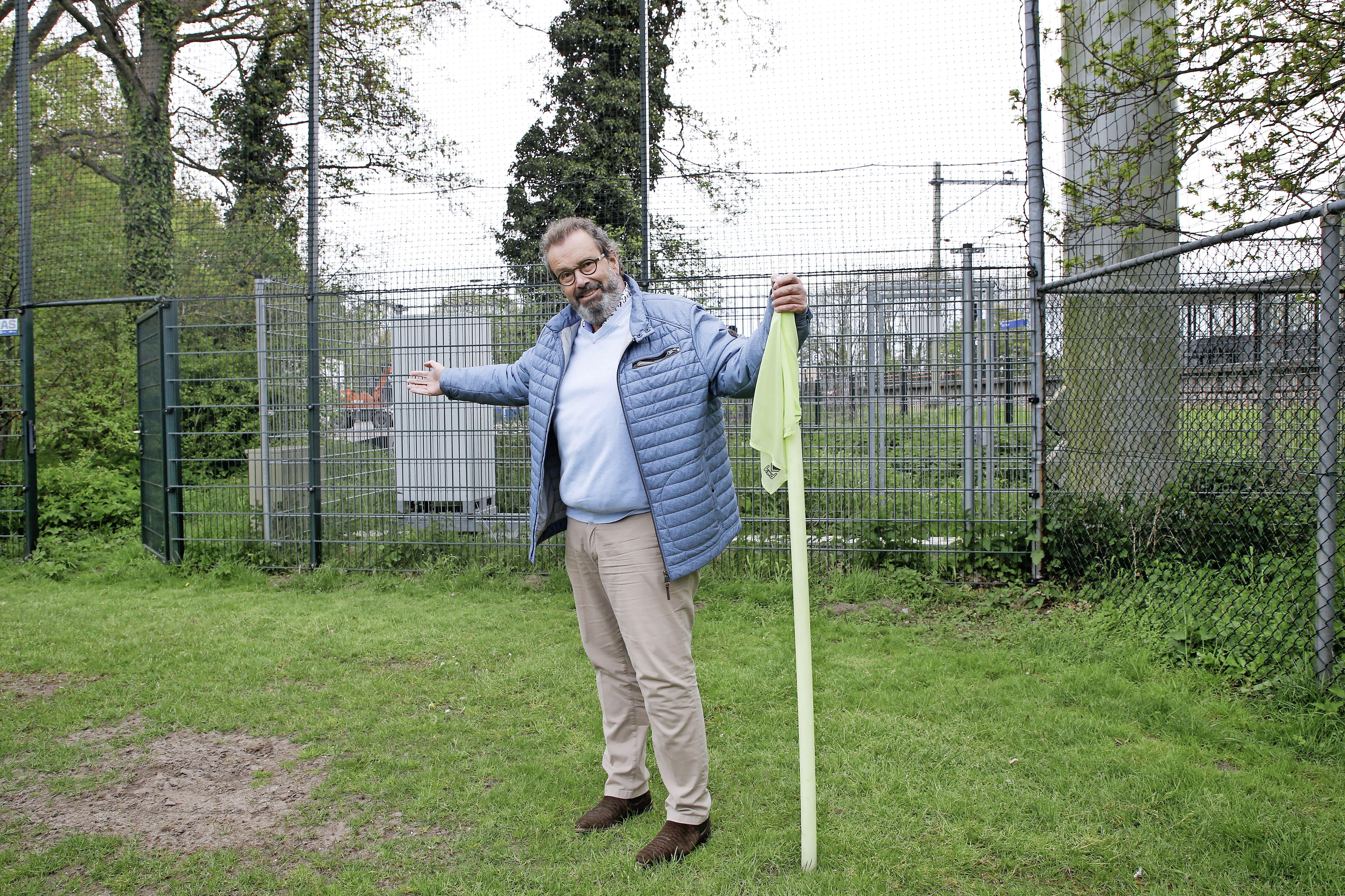 Woningbouw op de velden van RKVV Velsen in Driehuis en verhuizing van de voetbalclub lijken ver weg, bestuur is verrast