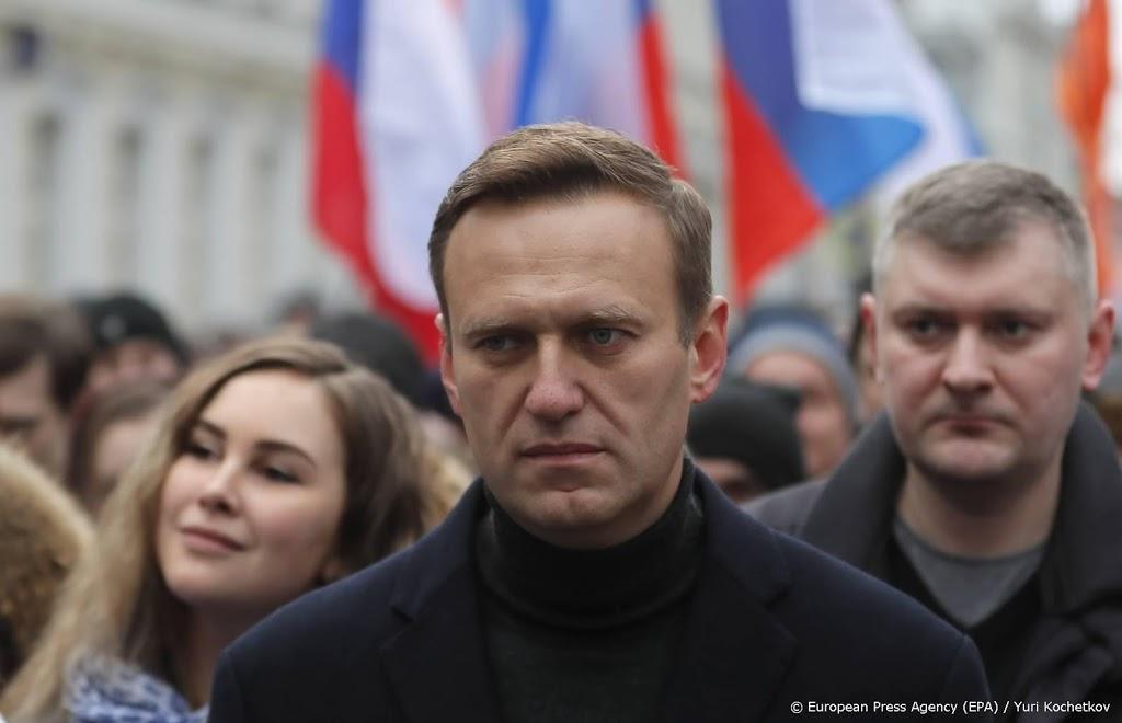 Russische gevangenisdienst wil aanhouding Navalni