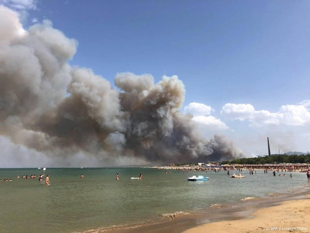 Meer bosbranden in Italië, regio wil noodtoestand