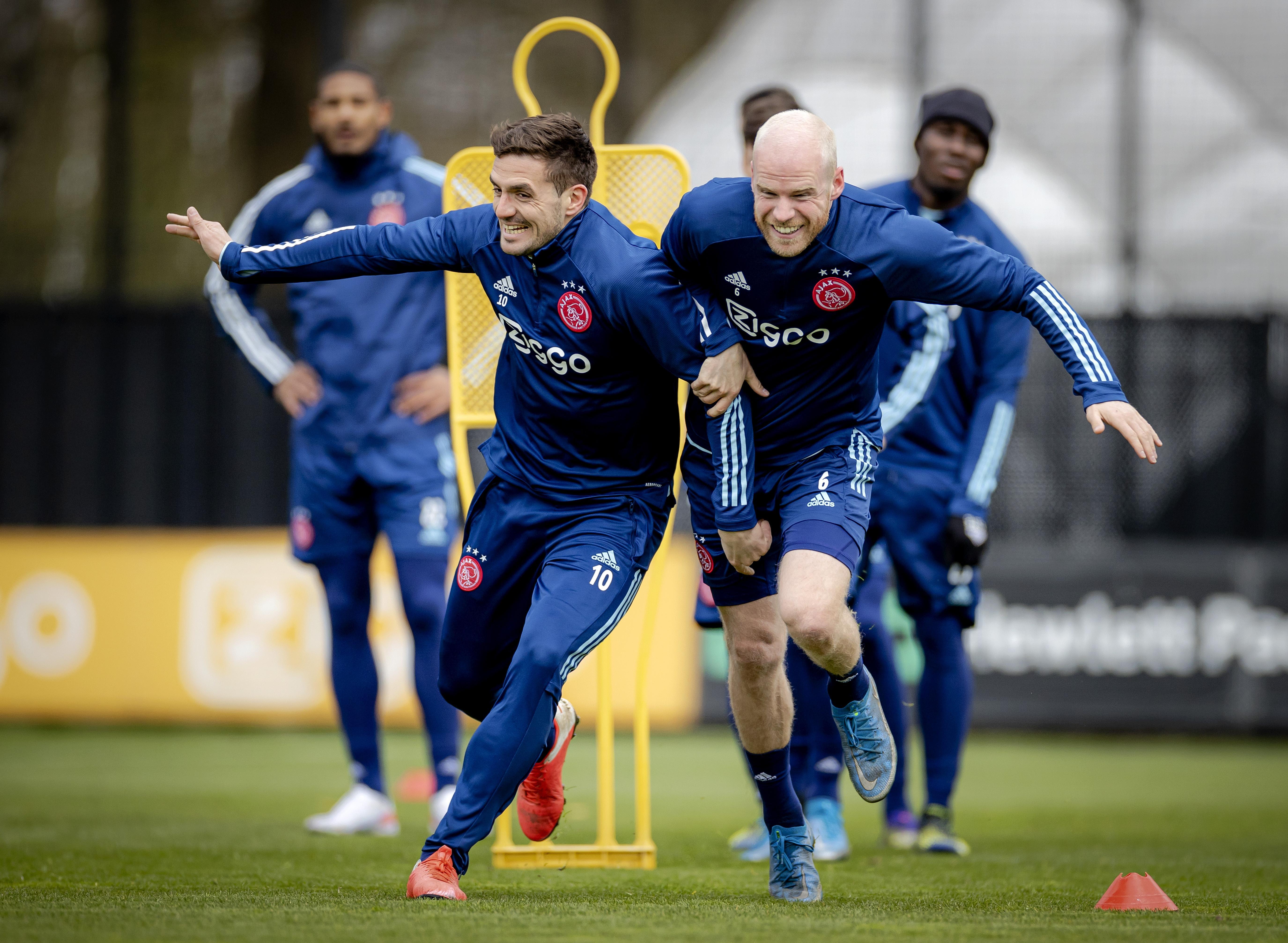Ajax blaakt van vertrouwen voor thuisduel met AS Roma