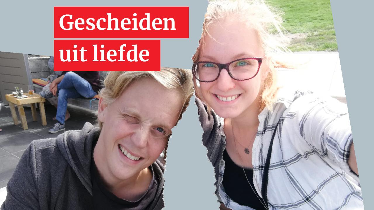 Auke en Iris leven gescheiden uit liefde: 'Liever dit dan Auke doodziek op de intensive care'
