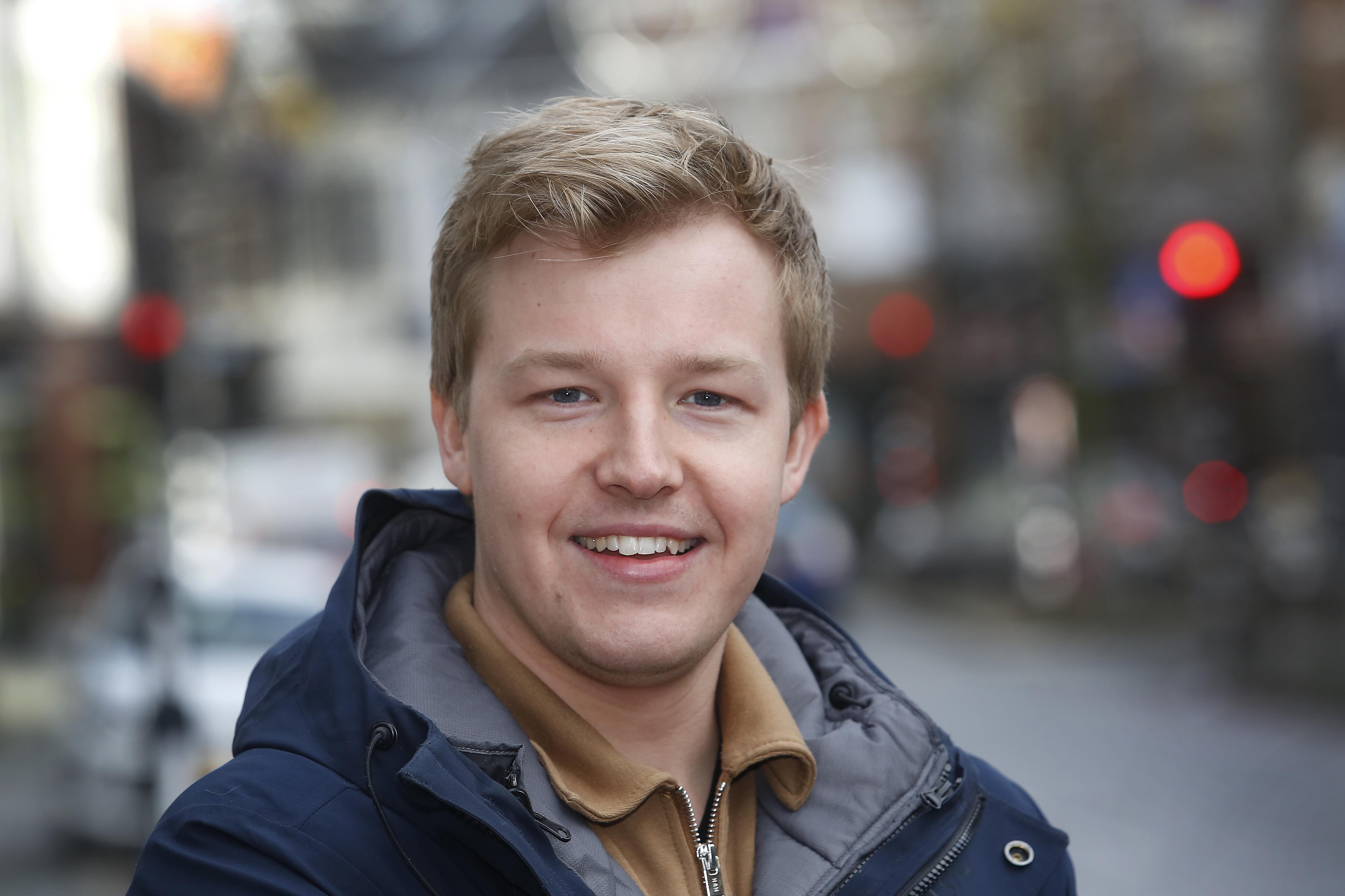 Jesse Markus begint afdeling van Jonge Democraten in het Gooi: 'Verhaal van jongeren naar voren brengen'