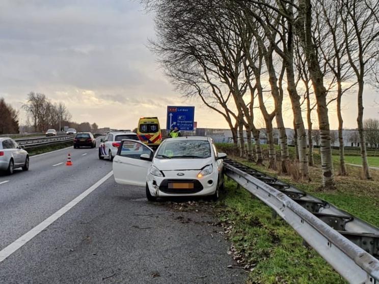 Lange files op A44 na ongeval bij Oegstgeest