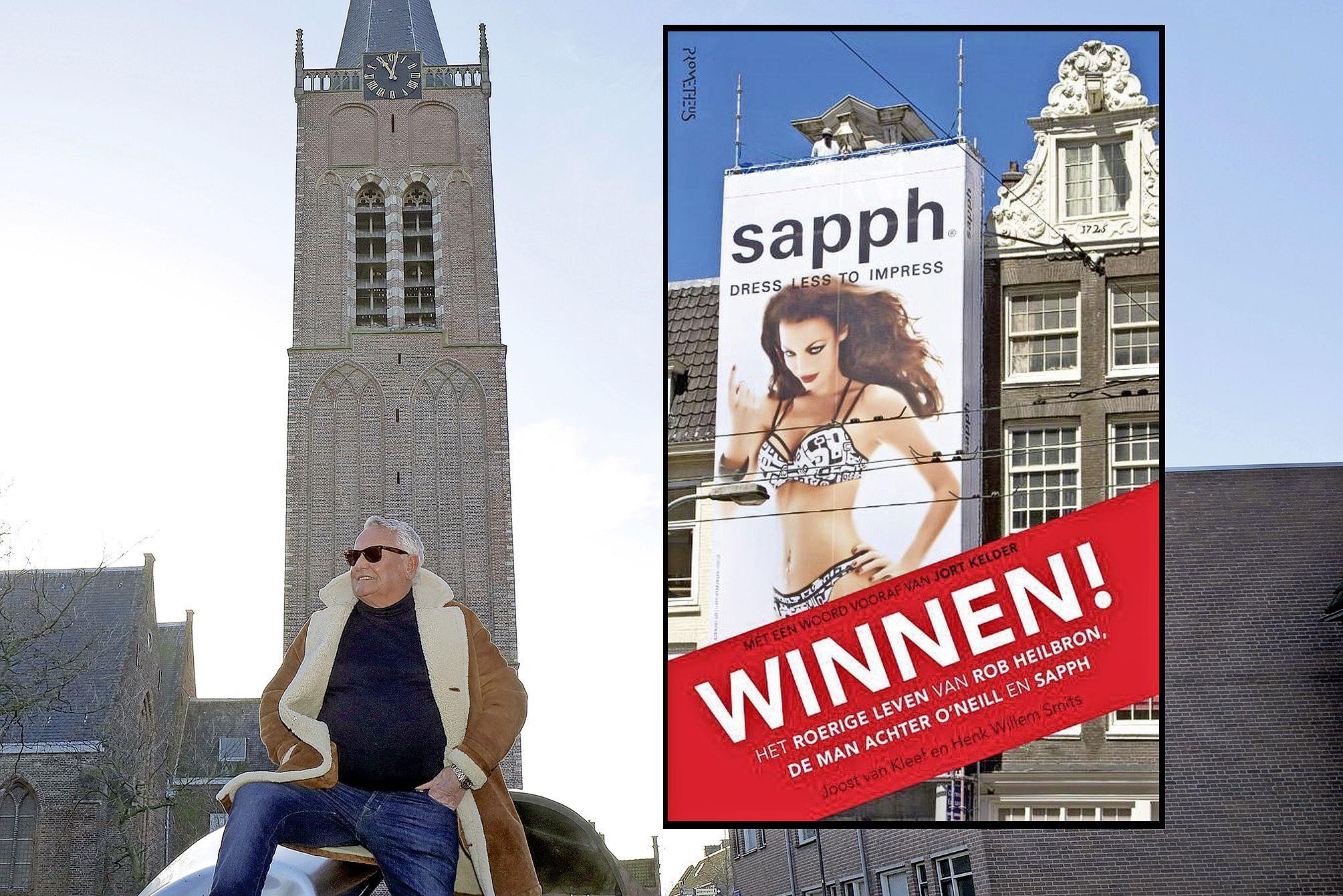 Rob Heilbron wil altijd 'Winnen!'. Boek in Beverwijk geboren lefgozer vertelt over in oorlog omgekomen Joodse familie en zijn avonturen als zeilkampioen en grote man achter O'Neill Europa en lingeriemerk Sapph