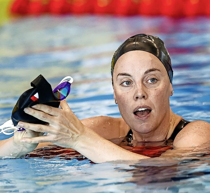 Zwemster Femke Heemskerk krijgt extra kwalificatiekans voor Olympische Spelenop 50 meter vrij