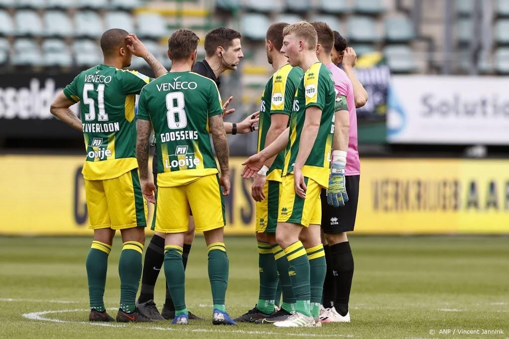 Tientallen supporters aangehouden bij ADO-stadion Den Haag
