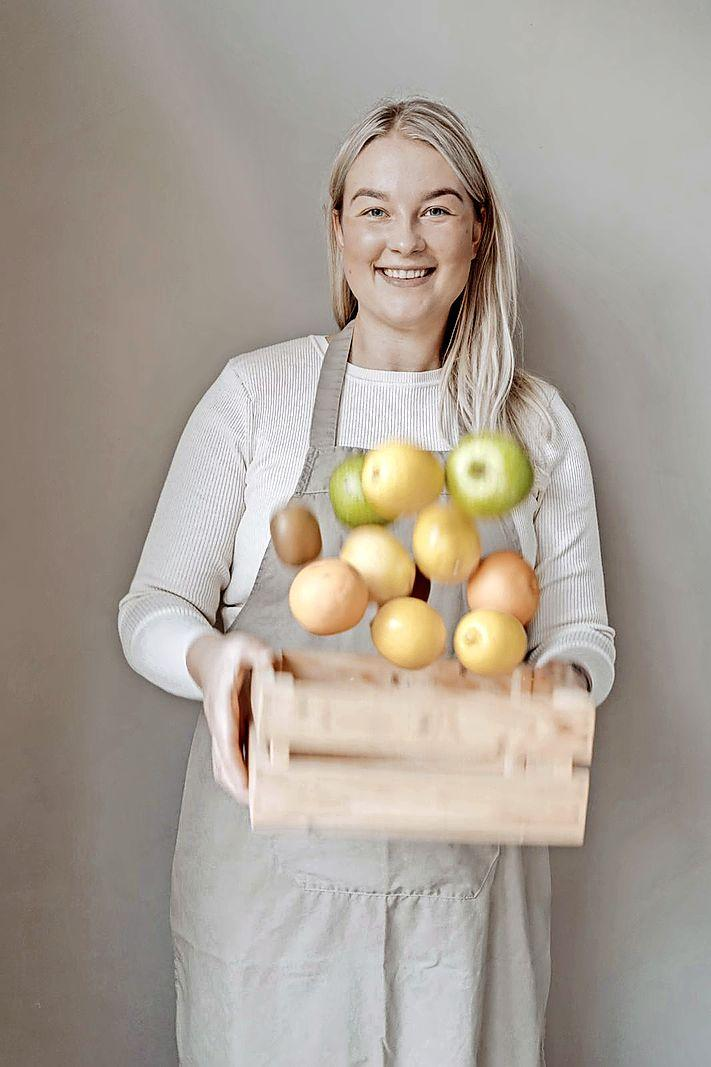 Van bezorgservice naar eigen zaak: Daphne van der Morst (21) opent in april een pop-up sapjeswinkel in de Beatrixstraat. 'Als je een droom hebt, waarom zou je hem dan niet najagen?'