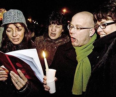 Geen kerstzang in het Zaanenpark: 'Vanuit de huiskamer luidkeels meezingen'