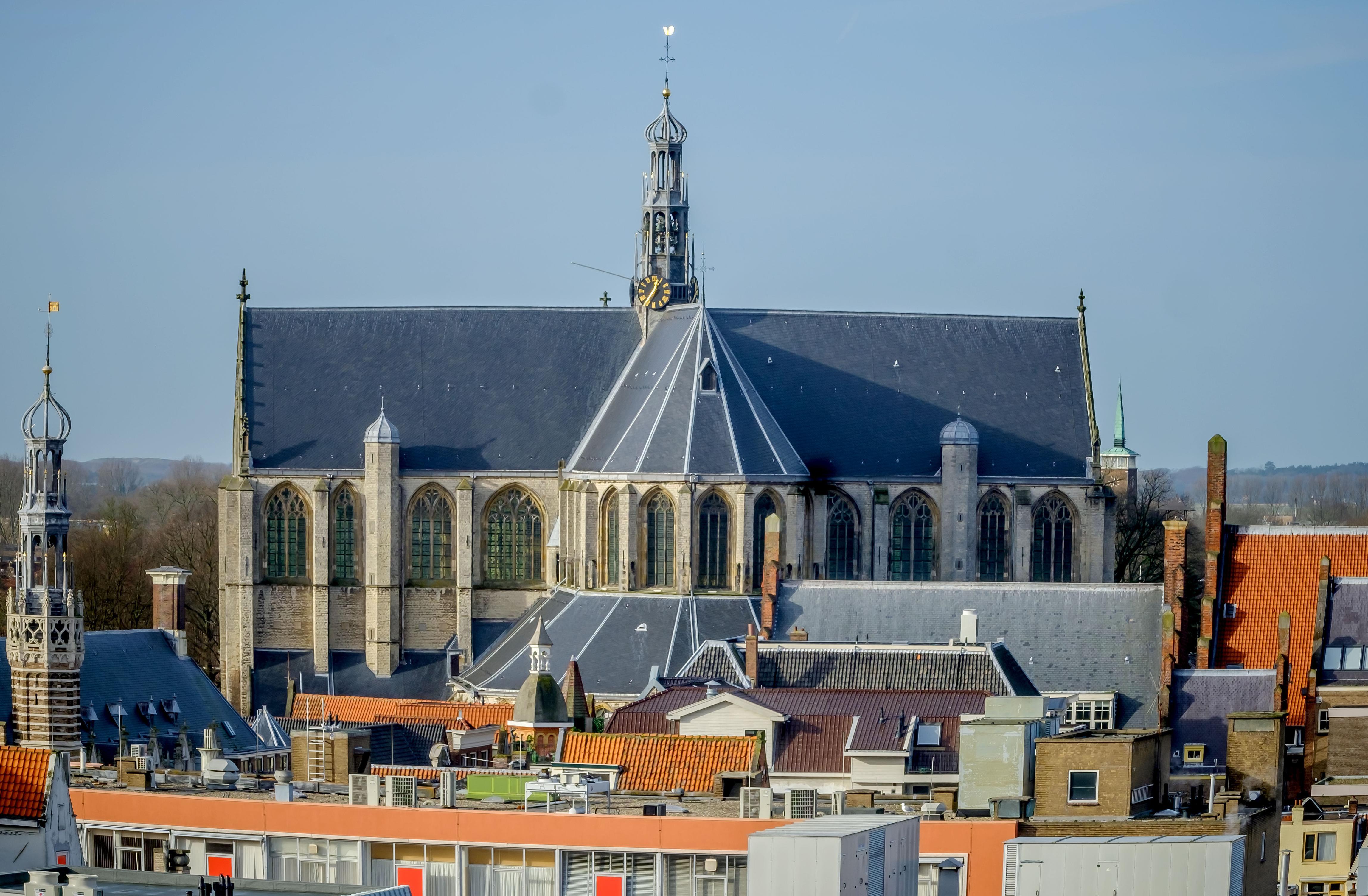 Onderzoek naar instortingsgevaar Grote Kerk in Alkmaar is niet nodig. Er is een jaarlijkse inspectie