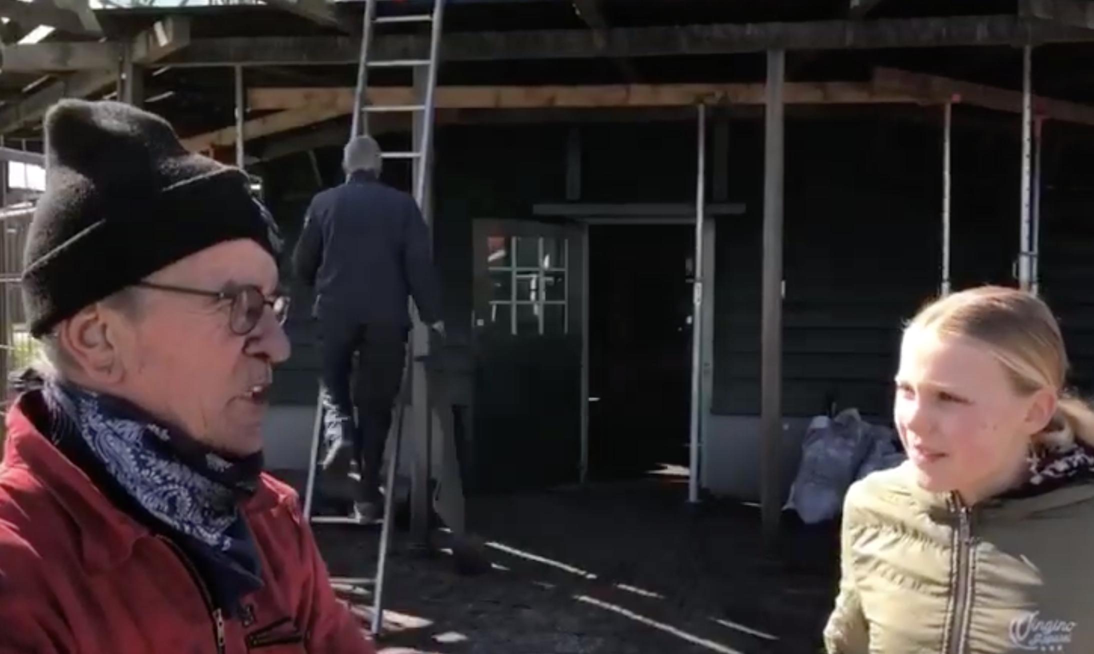 Bovenkarspelse Emma (11) haalt finale Jeugdjournaalwedstrijd met nieuwsitem over afgebrande molen Ceres [video]