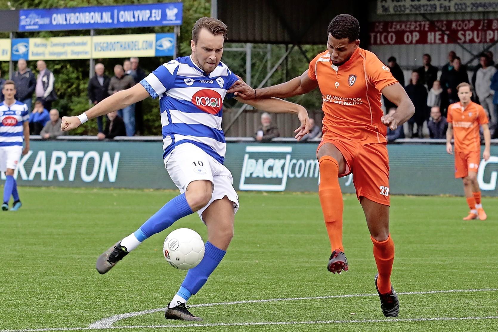 Roy Castien geniet na zware periode bij Spakenburg; volgende week tegen oude club HFC