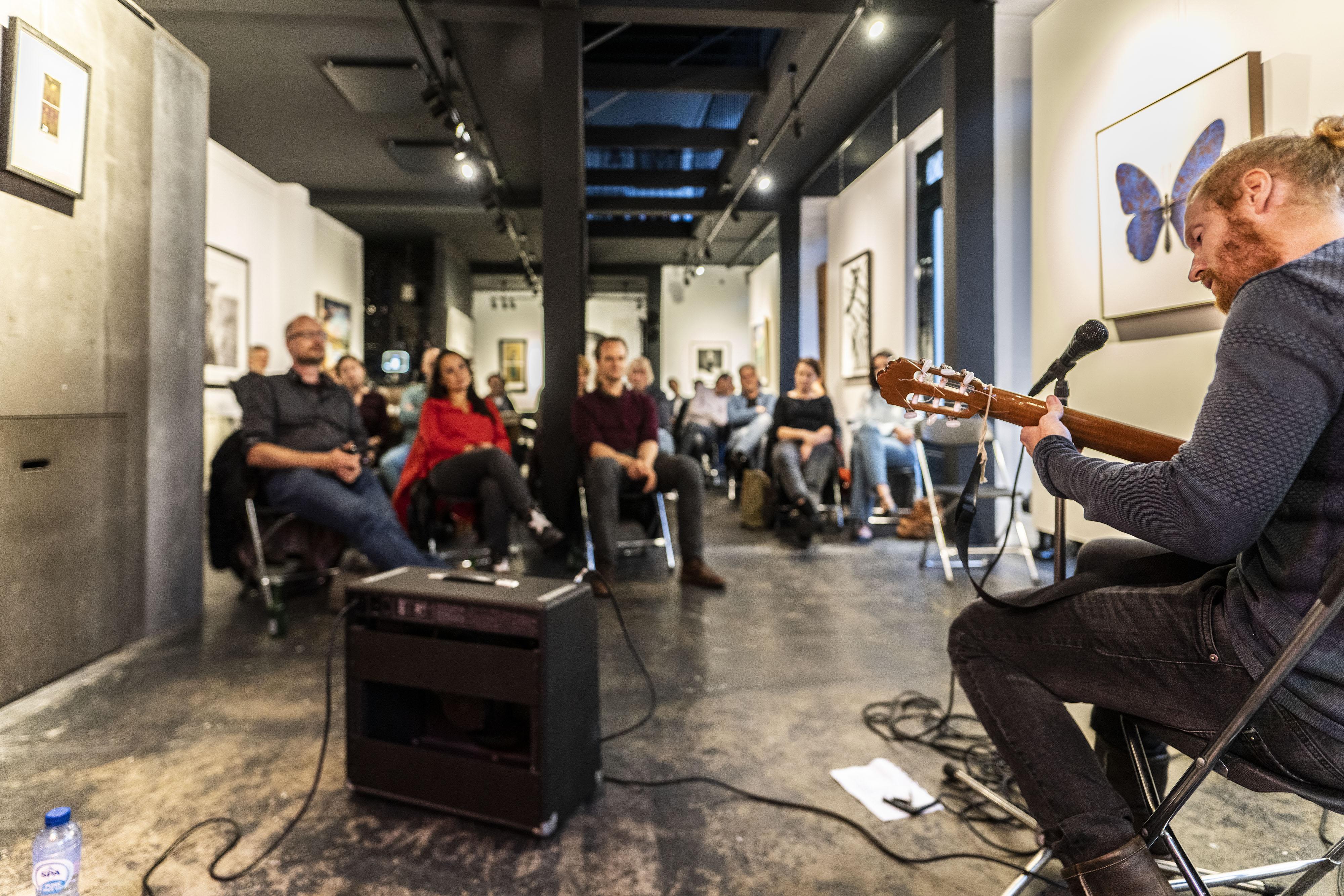 Weinig concerten in huiskamers bij deze aangepaste editie van Jazz in de Kamer