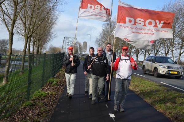 DSOV-fans: 'Allemaal met een sixpack in onze rugzak'