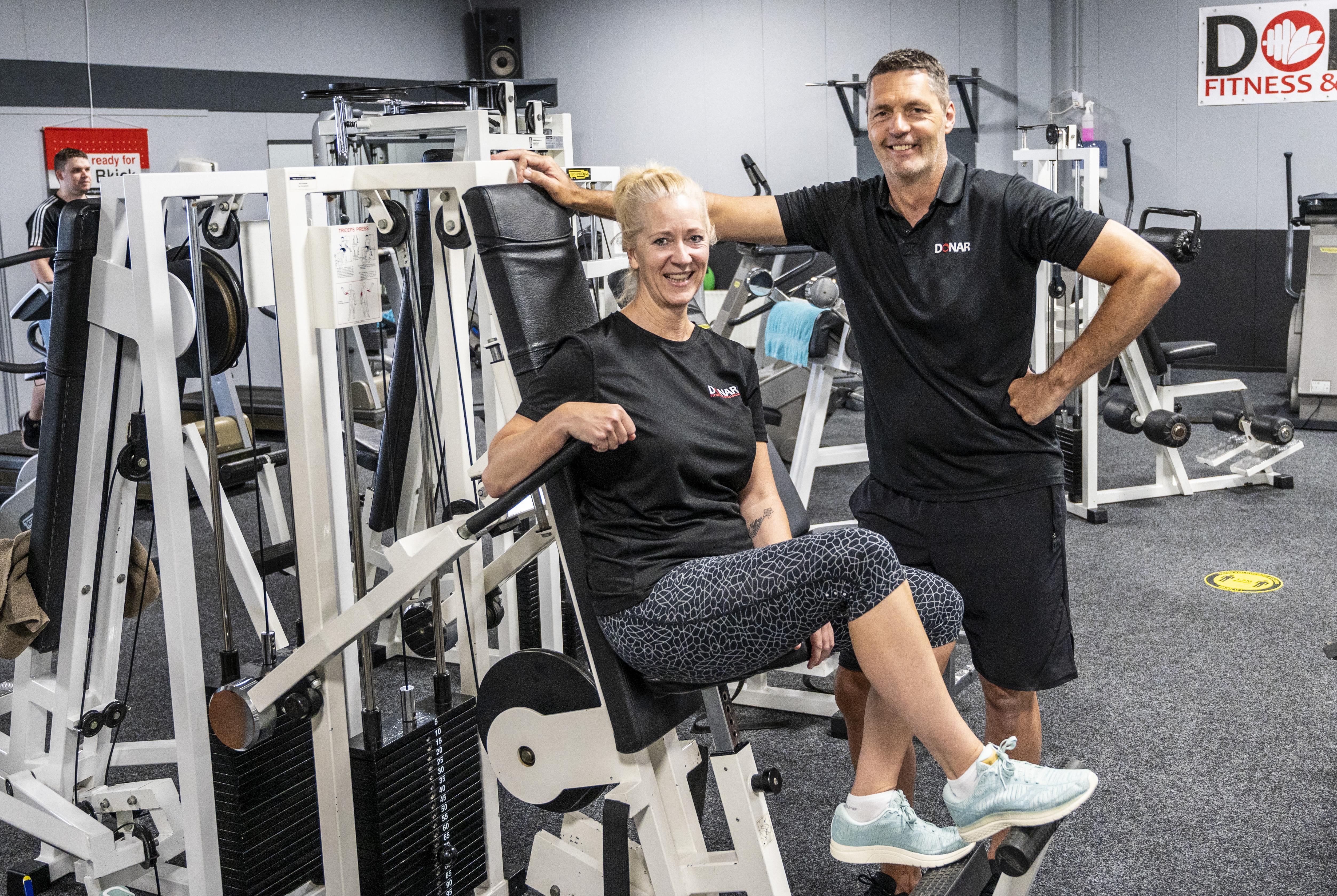 Simone en Jeroen Prinsse van Donar Fitness en Wellness kijken terug op een roerige coronatijd: 'Personeel en klanten hebben ons gered'