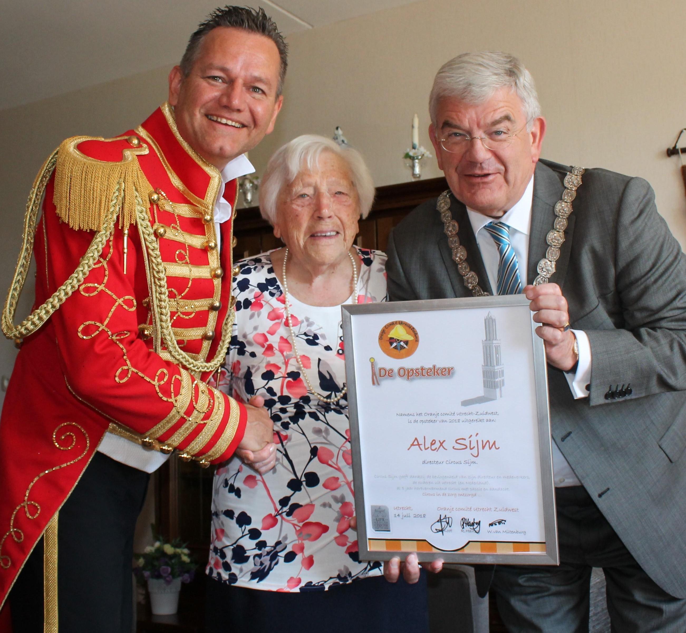 Directeur Circus Sijm onderscheiden omwille van inzet voor senioren