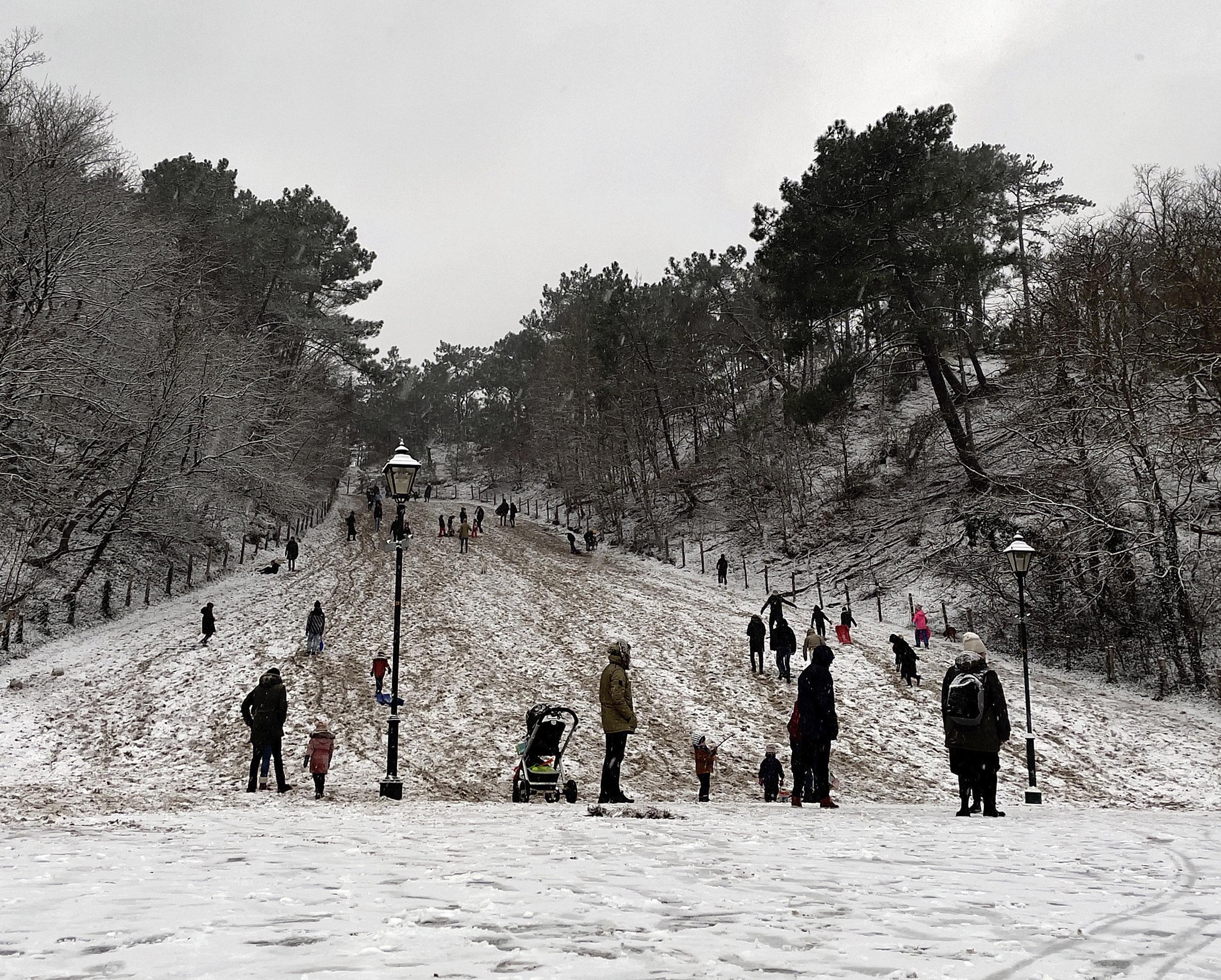 Genieten geblazen in sneeuw en winterse kou in en rondom Alkmaar