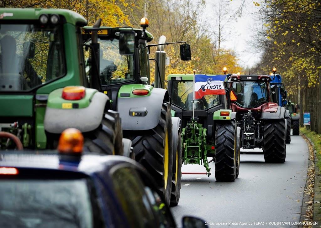 Boeren willen met trekkers helpen tegen rellen