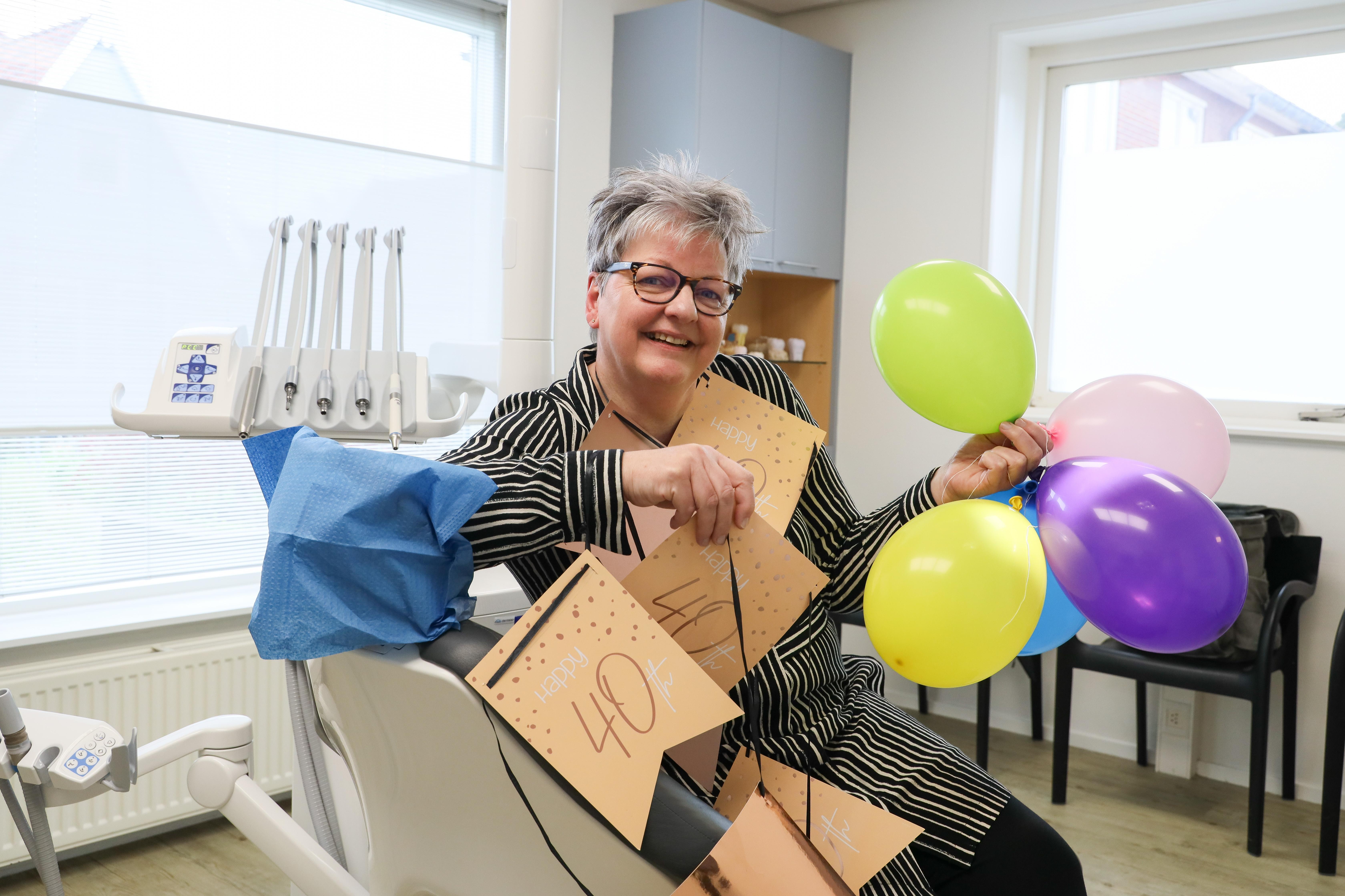 Karin de Jager zet al 40 jaar een tandje bij