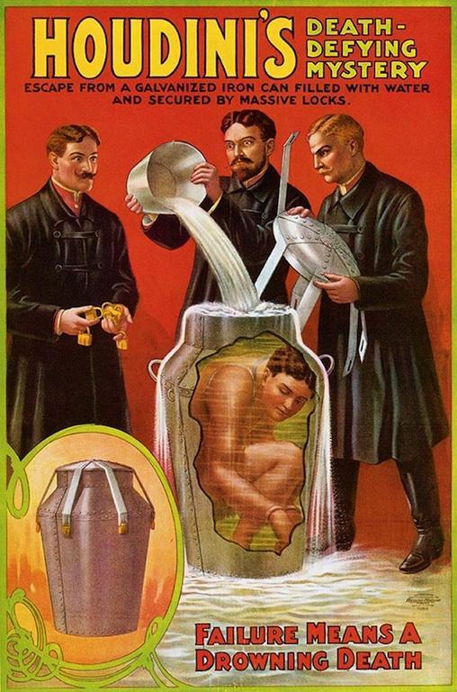 Kever doet Houdini-truc