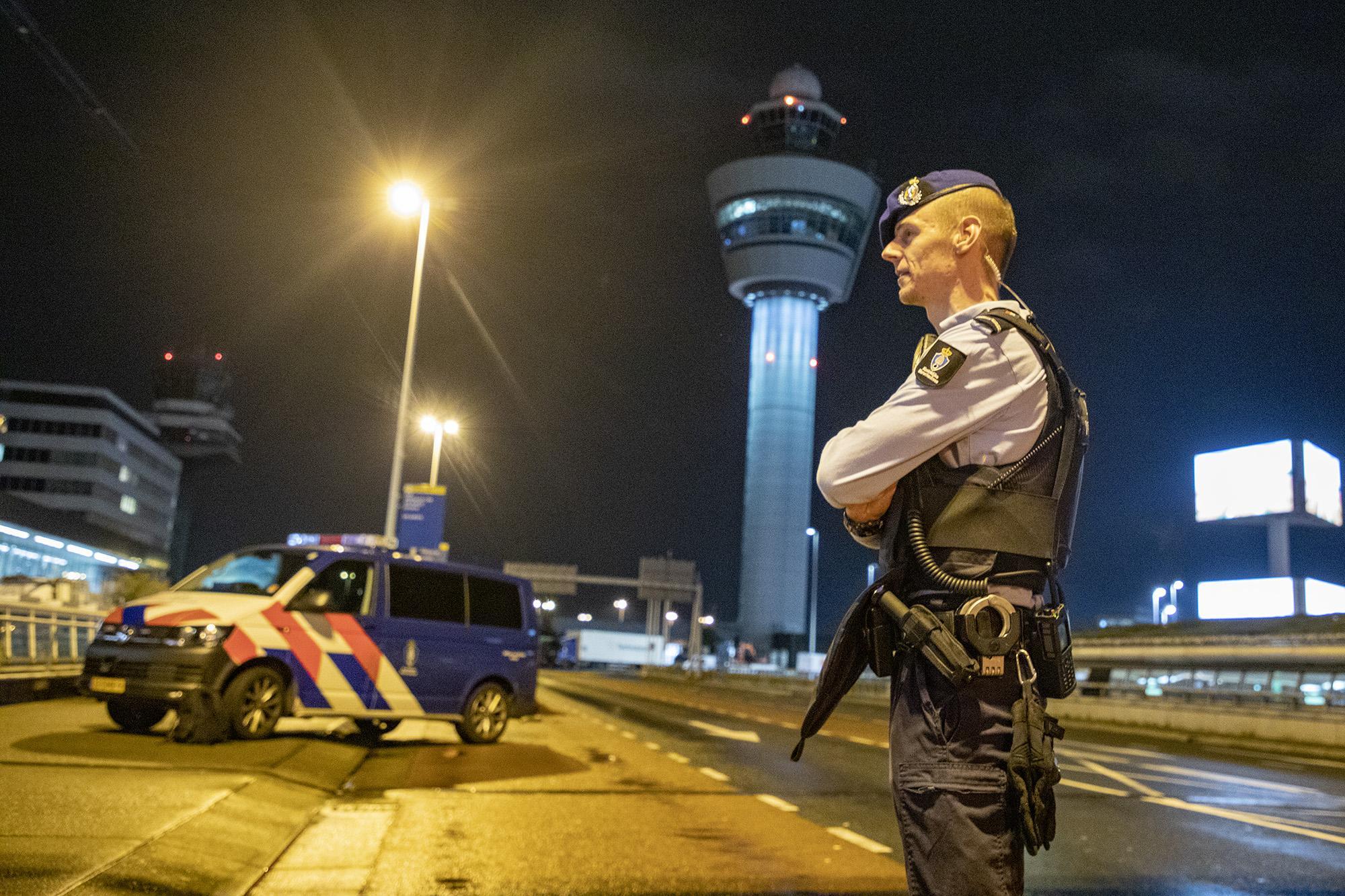 In been geschoten man op Schiphol zorgde eerder voor overlast