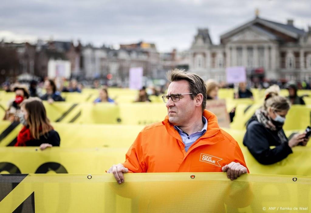 Code Oranje's Richard de Mos brengt stem uit