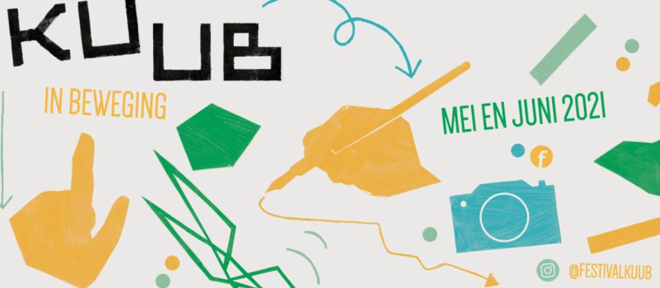 Films over estafette KUUB-kunstenaars te zien vanuit bootjes op festivaldag op 12 juni in Alkmaar