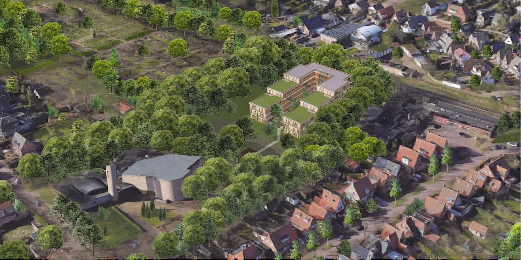 Plan voor wonen in De Rimboe: tot vijf hoog en voor 600 euro per maand
