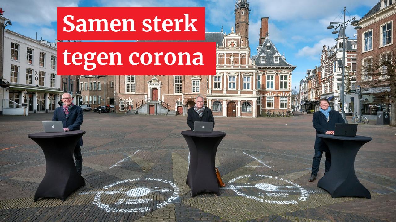 Haarlemse winkels willen samen overleven: 'Corona is een probleem van ons allemaal'