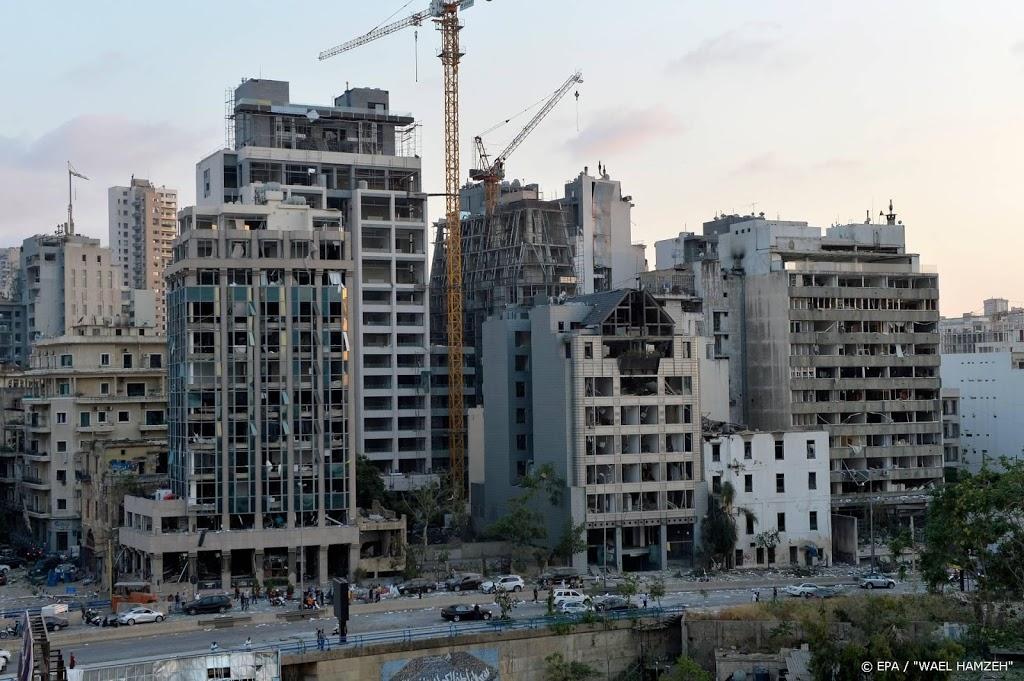 'Honderdduizenden mensen dakloos door explosie Beiroet'