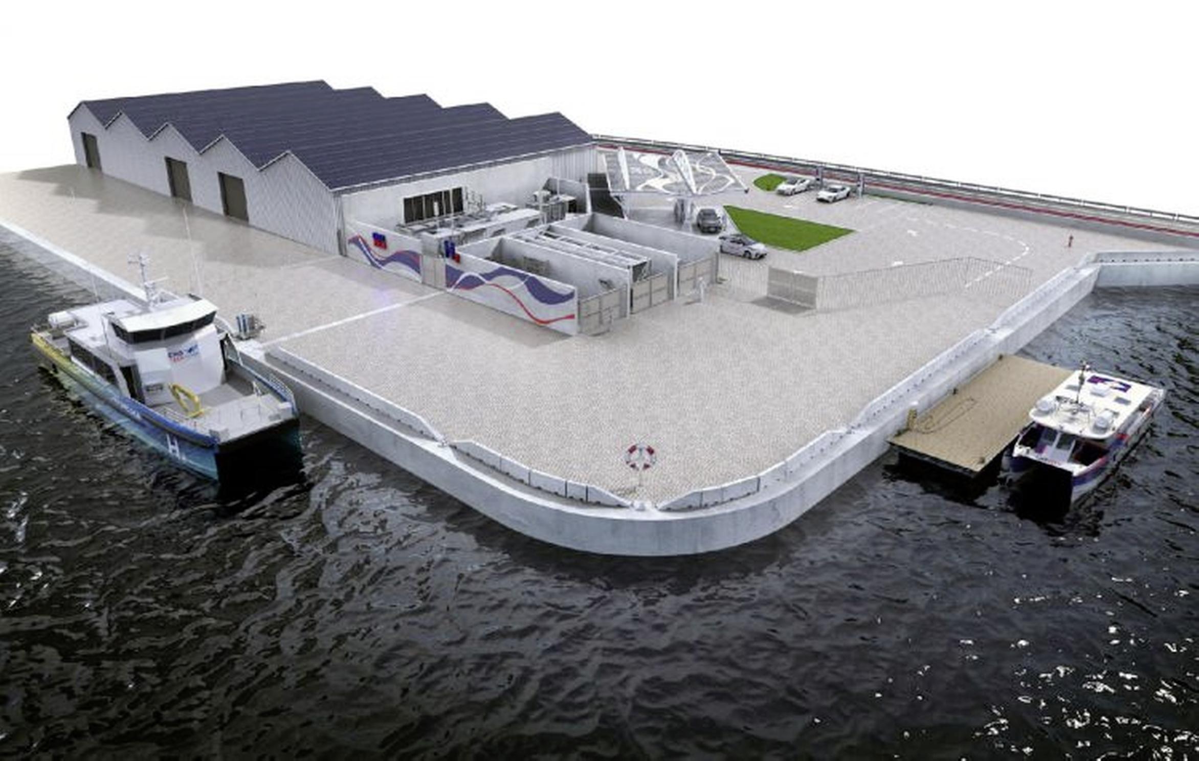 Naast waterstof in Helderse civiele haven straks ook waterstof op schepen in militaire haven. Bedrijfsleven kan inschrijven op machine voor marine