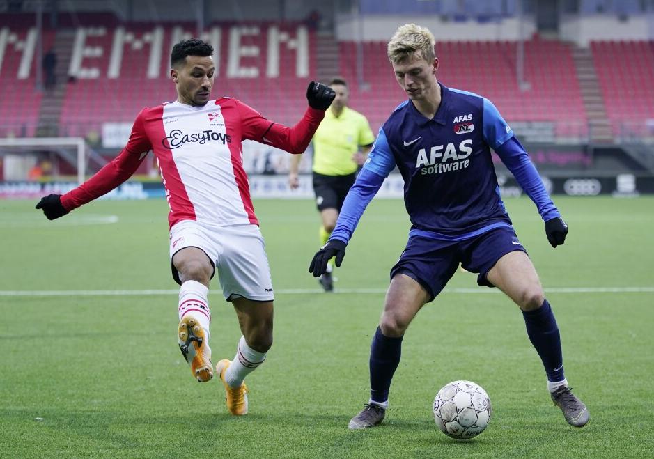 Verdediger Van Rhijn traint mee bij Jong Ajax