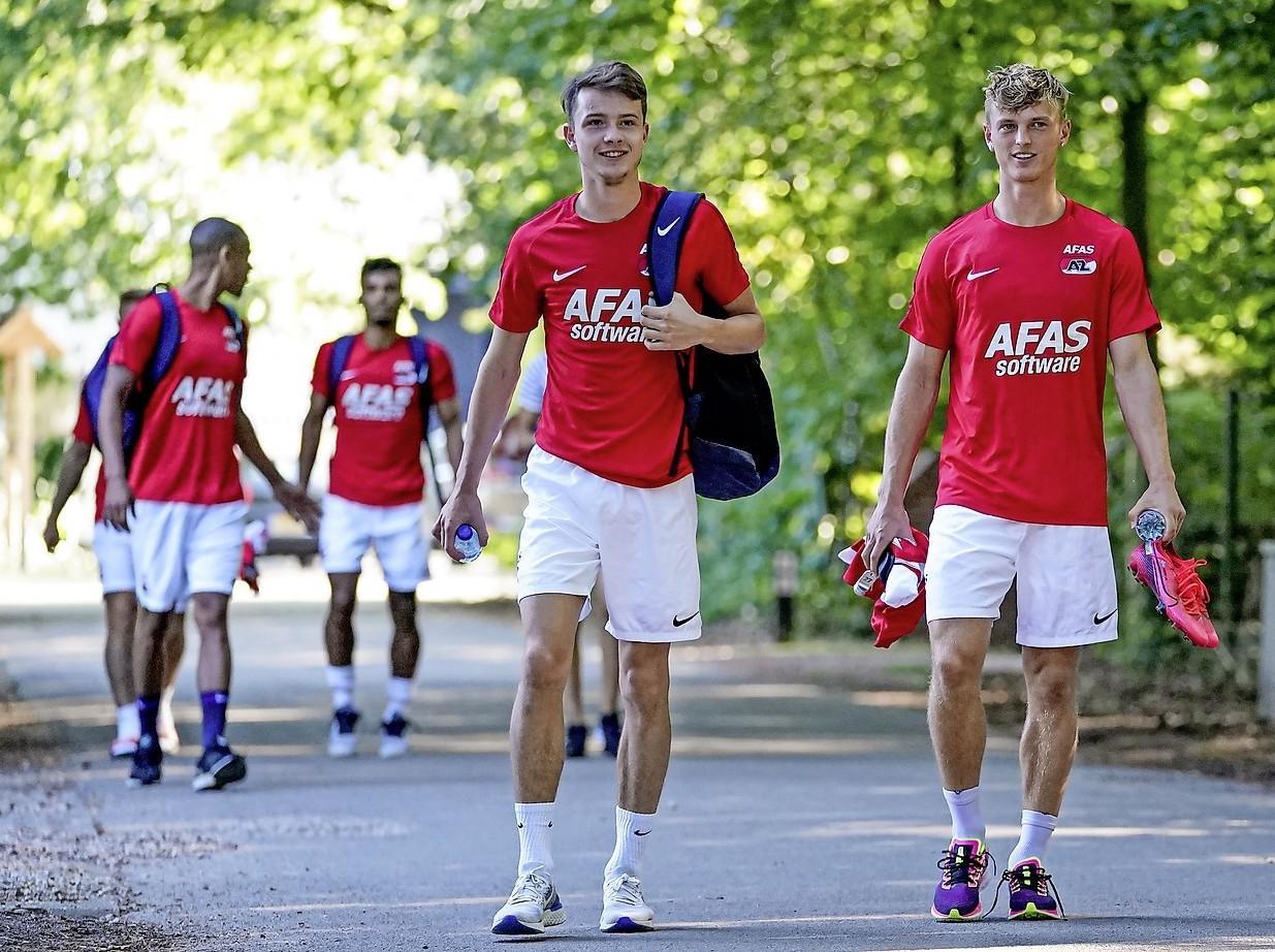 Schade van rode kaart Hakon Evjen valt mee voor AZ: Noor kan meedoen met eerste elftal