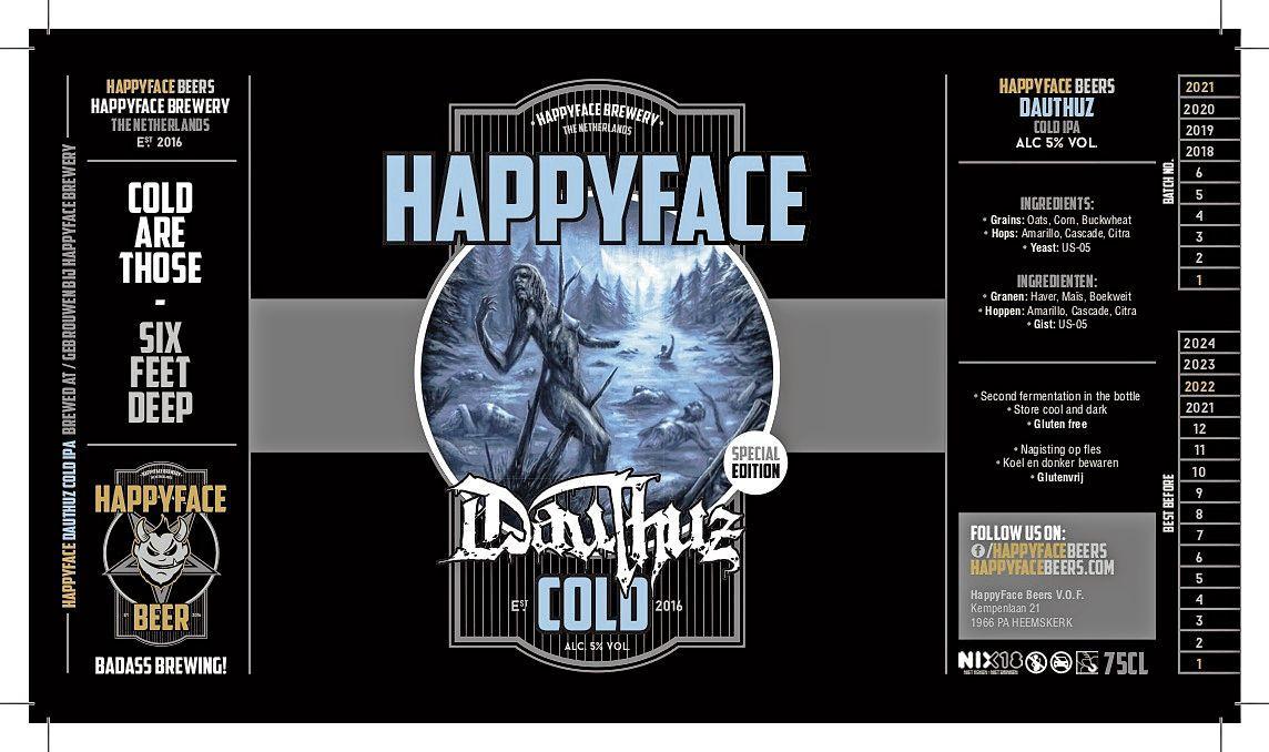 Glutenvrij deathmetal-bier van Dauthuz: 'De smaak past bij de zomer'