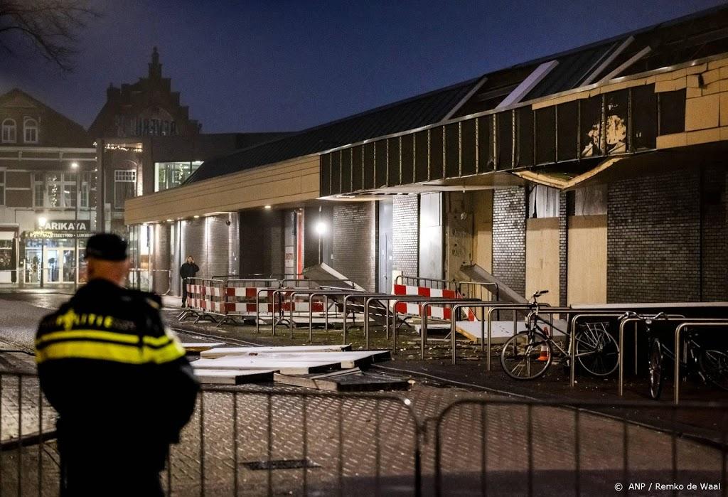 Aantal winkels niet bereikbaar na explosie Poolse winkel