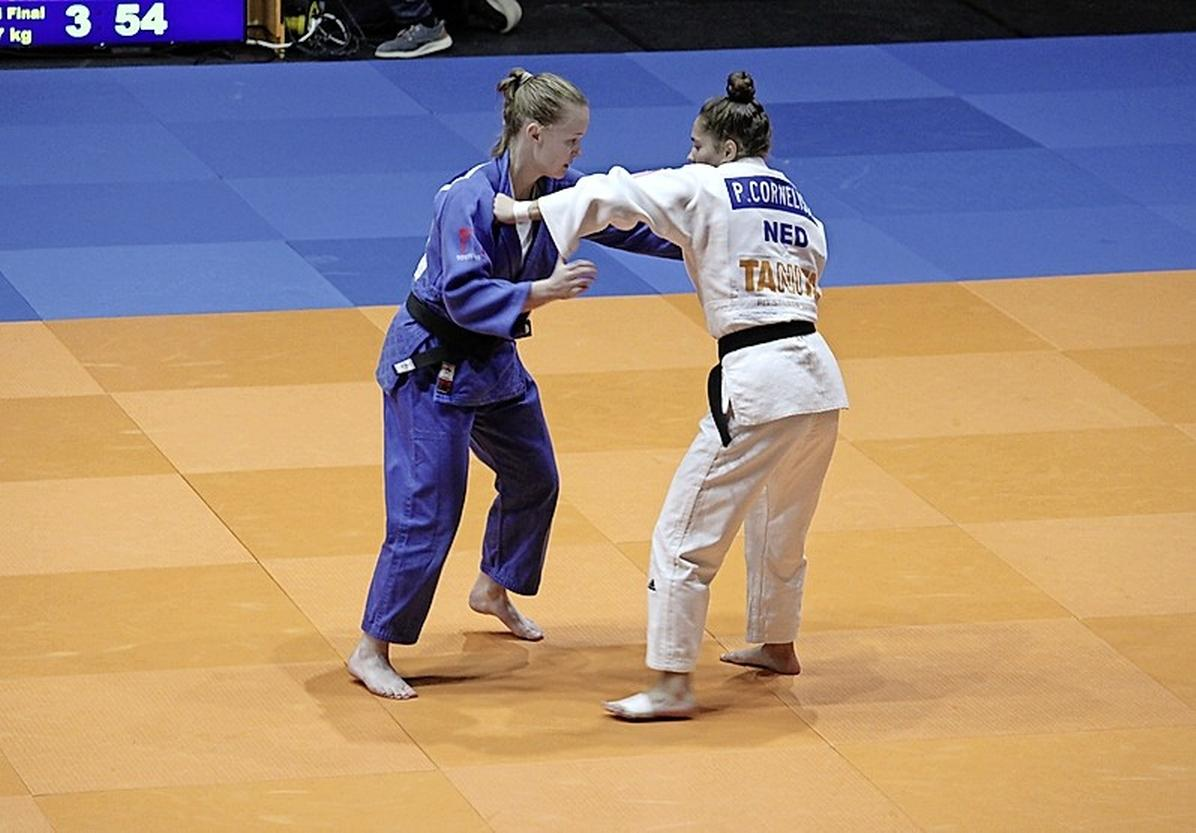 Pleuni Cornelisse, eerstejaars senior, had niet gerekend op uitnodiging voor WK Judo in Boedapest