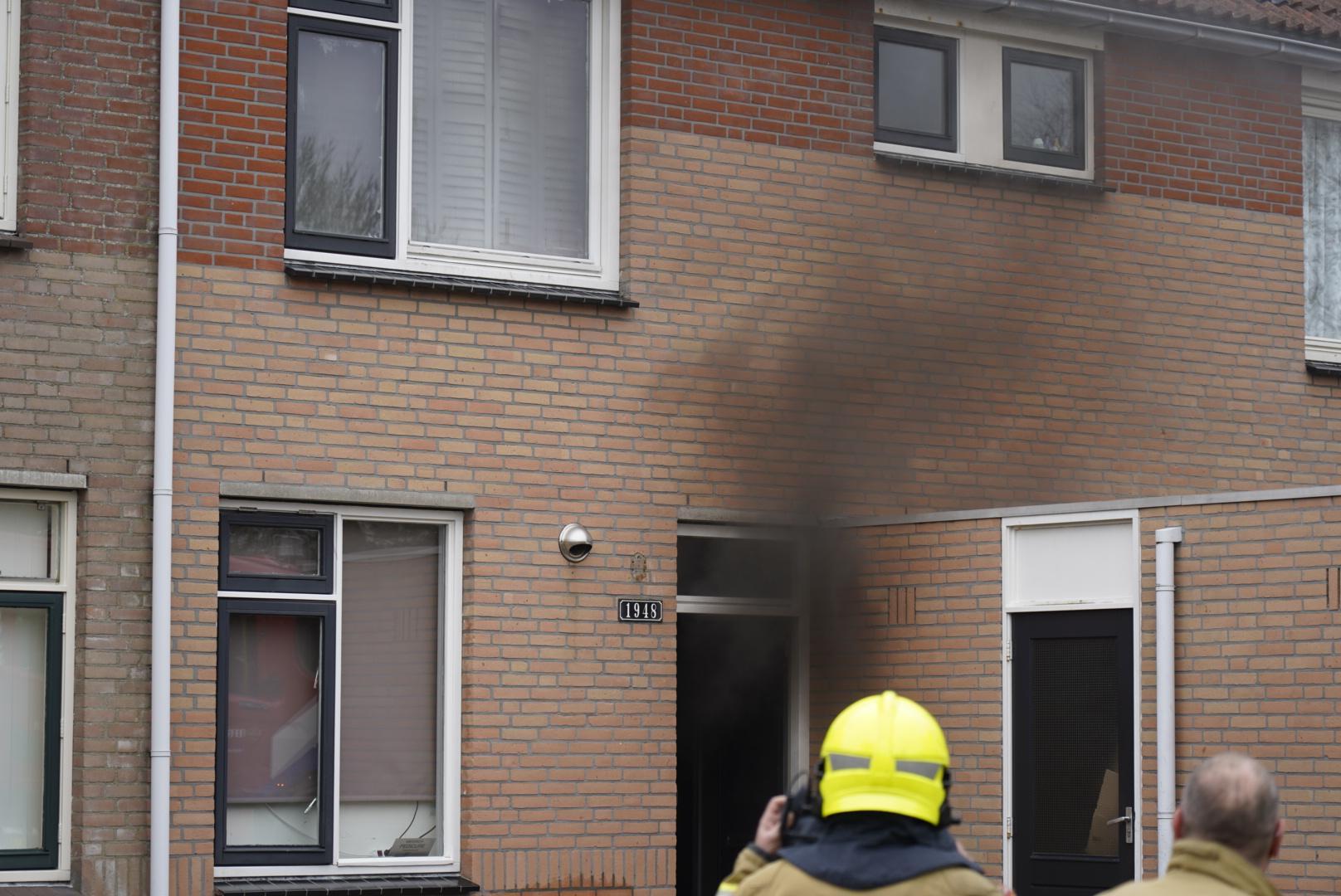 Brandweer redt schildpad bij woningbrand in Julianadorp
