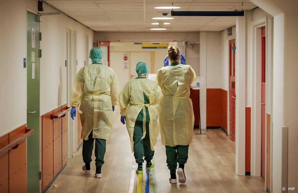 Meer coronapatiënten in ziekenhuis, iets minder nieuwe opnames